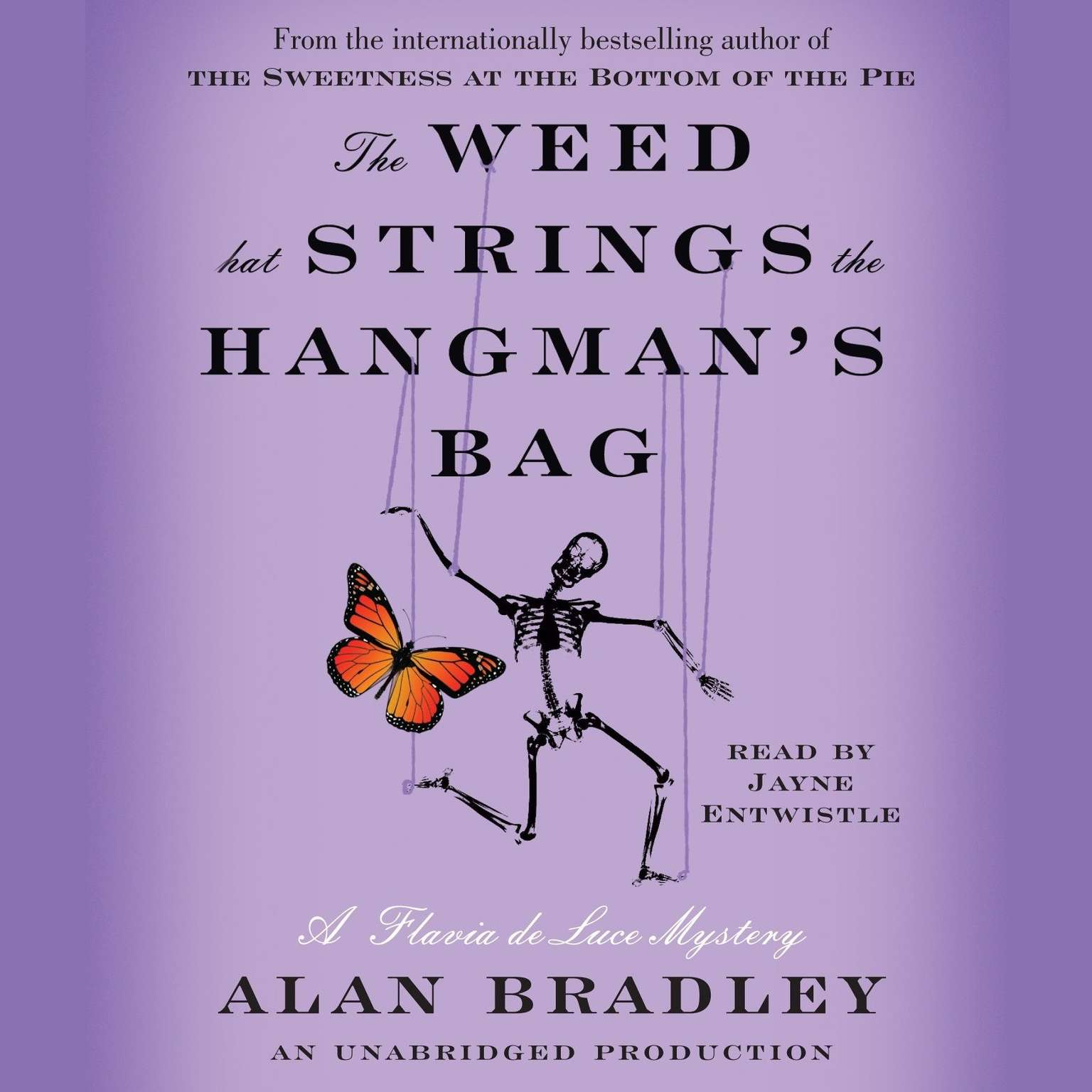 Printable The Weed That Strings the Hangman's Bag: A Flavia de Luce Mystery Audiobook Cover Art