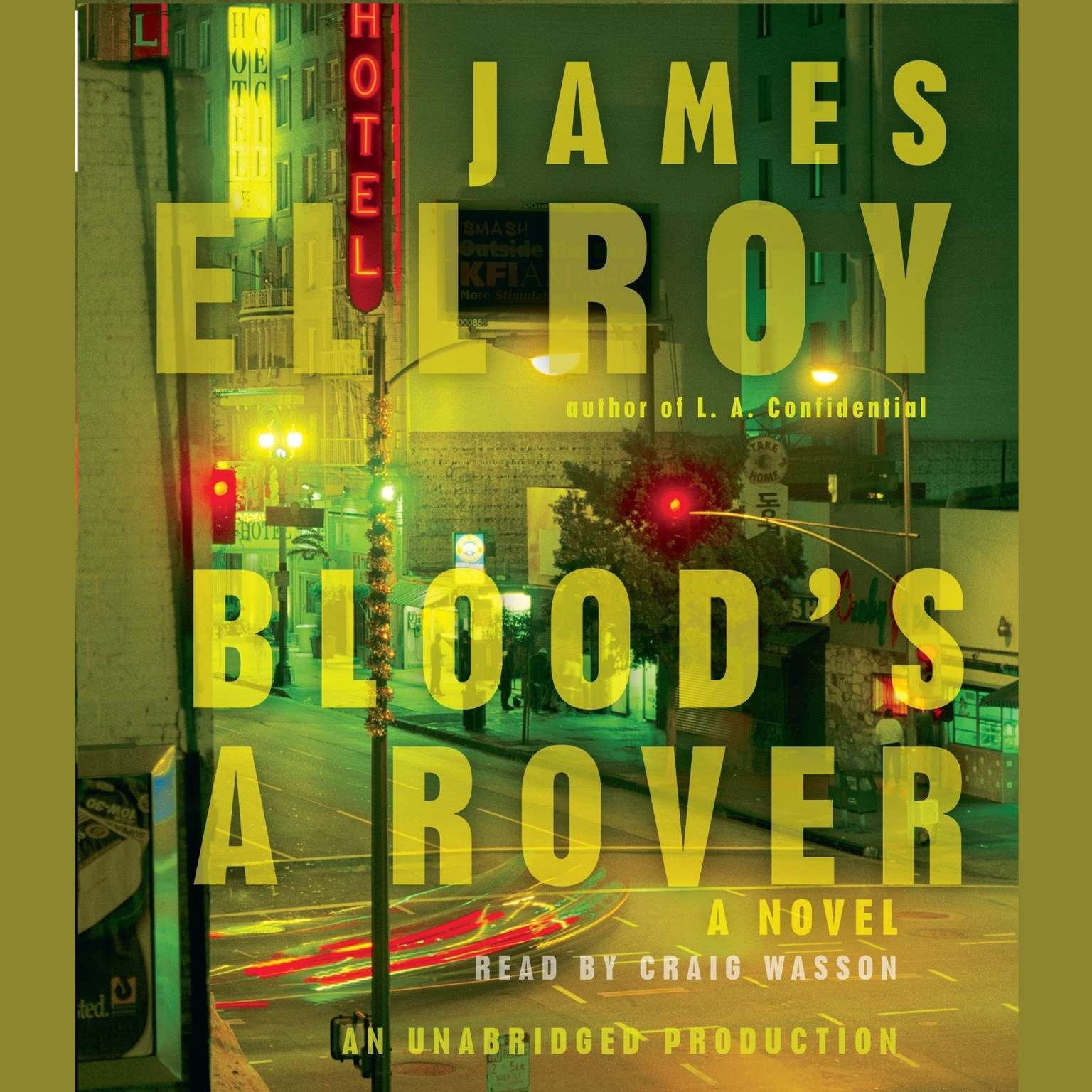 Printable Blood's A Rover Audiobook Cover Art