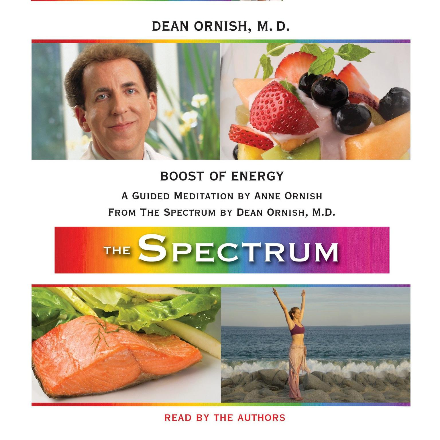 Printable Boost of Energy: A Guided Meditation from The Spectrum Audiobook Cover Art
