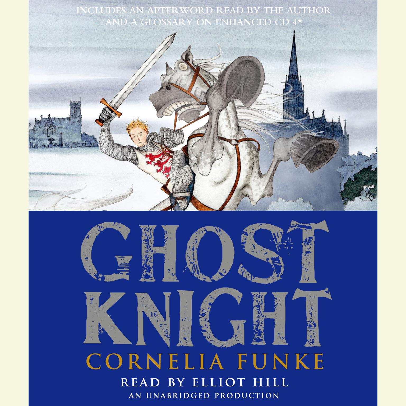 Printable Ghost Knight Audiobook Cover Art