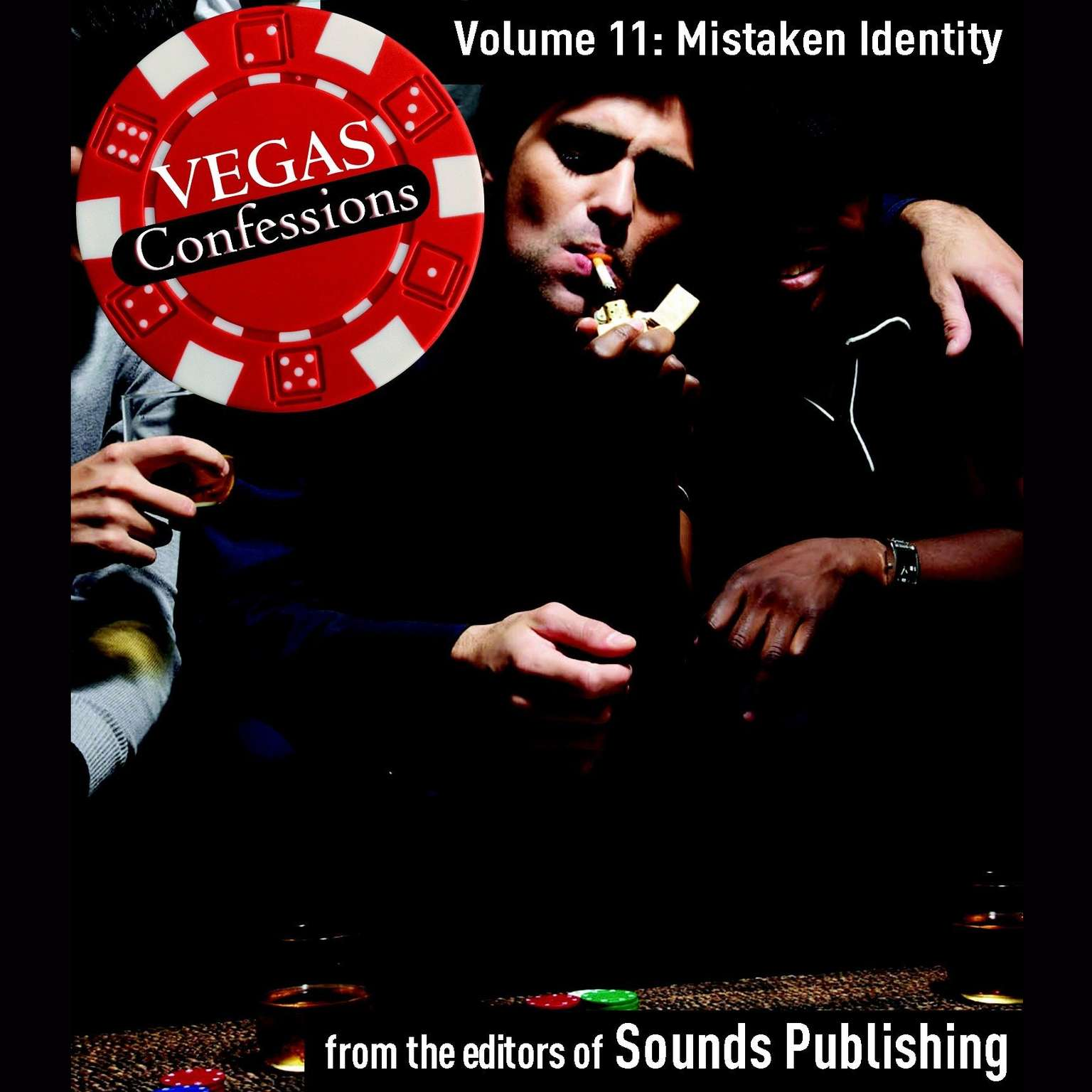Printable Vegas Confessions 11: Mistaken Identity Audiobook Cover Art