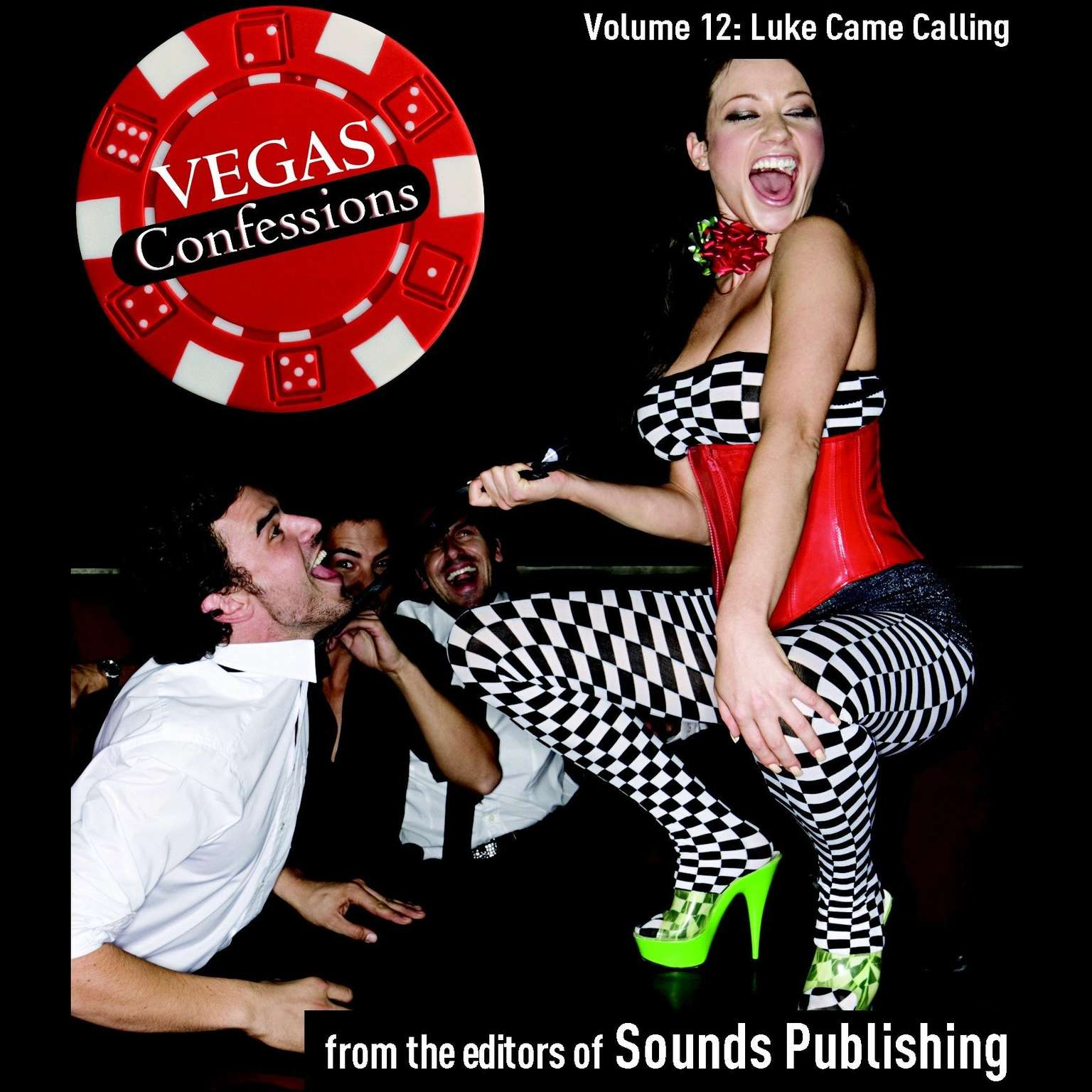 Printable Vegas Confessions 12: Luck Came Calling Audiobook Cover Art