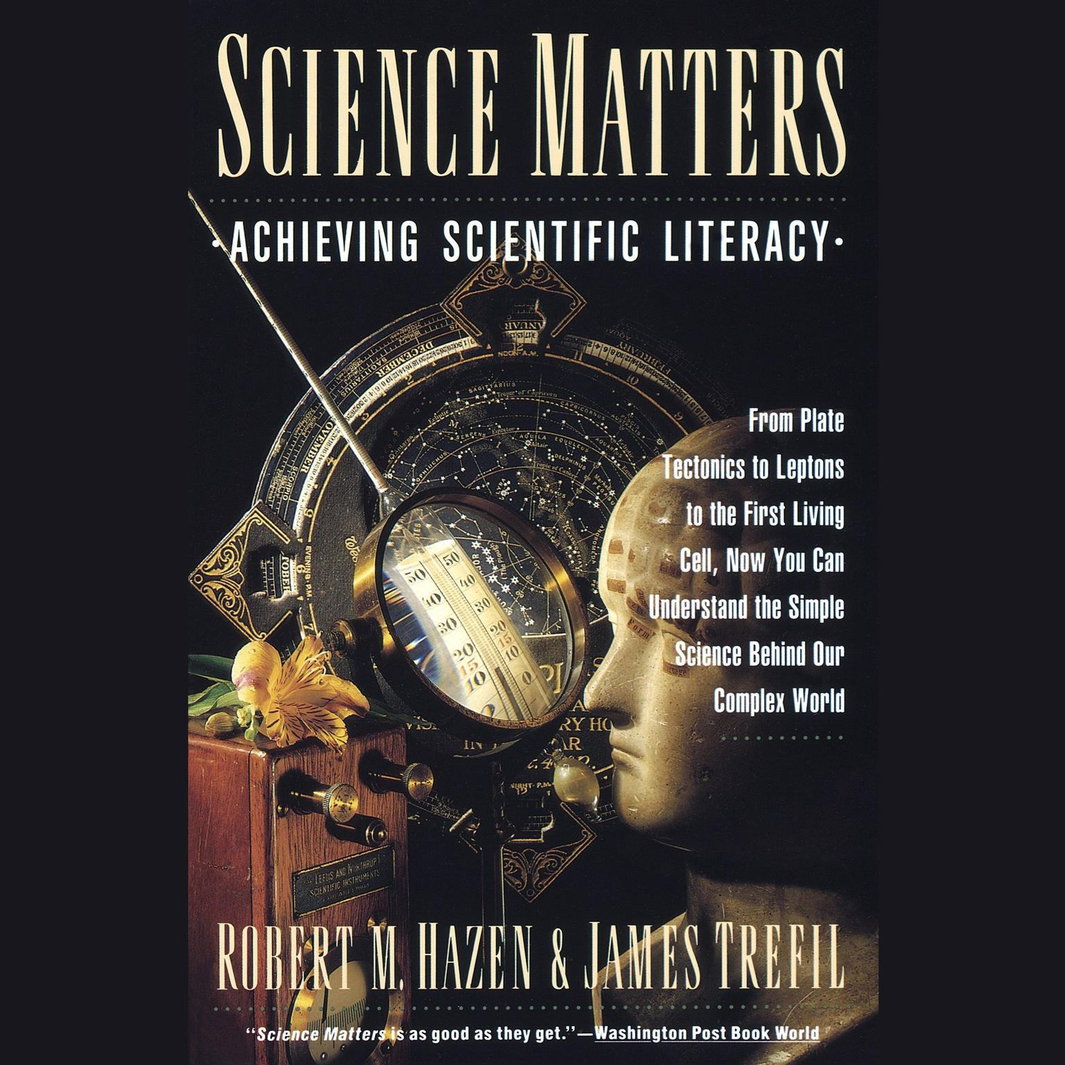 Printable Science Matters: Achieving Scientific Literacy Audiobook Cover Art