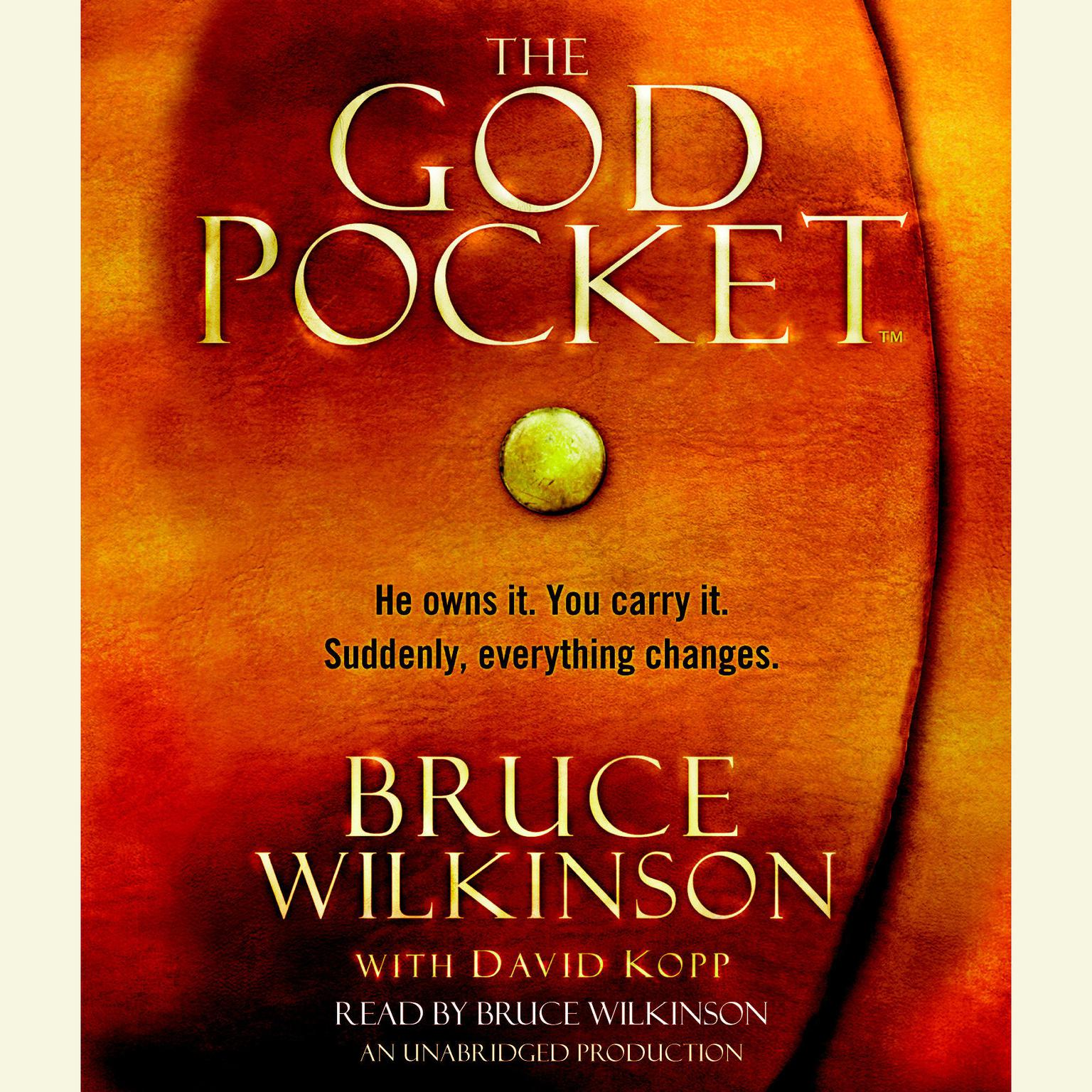Printable The God Pocket: He owns it. You carry it. Suddenly, everything changes. Audiobook Cover Art