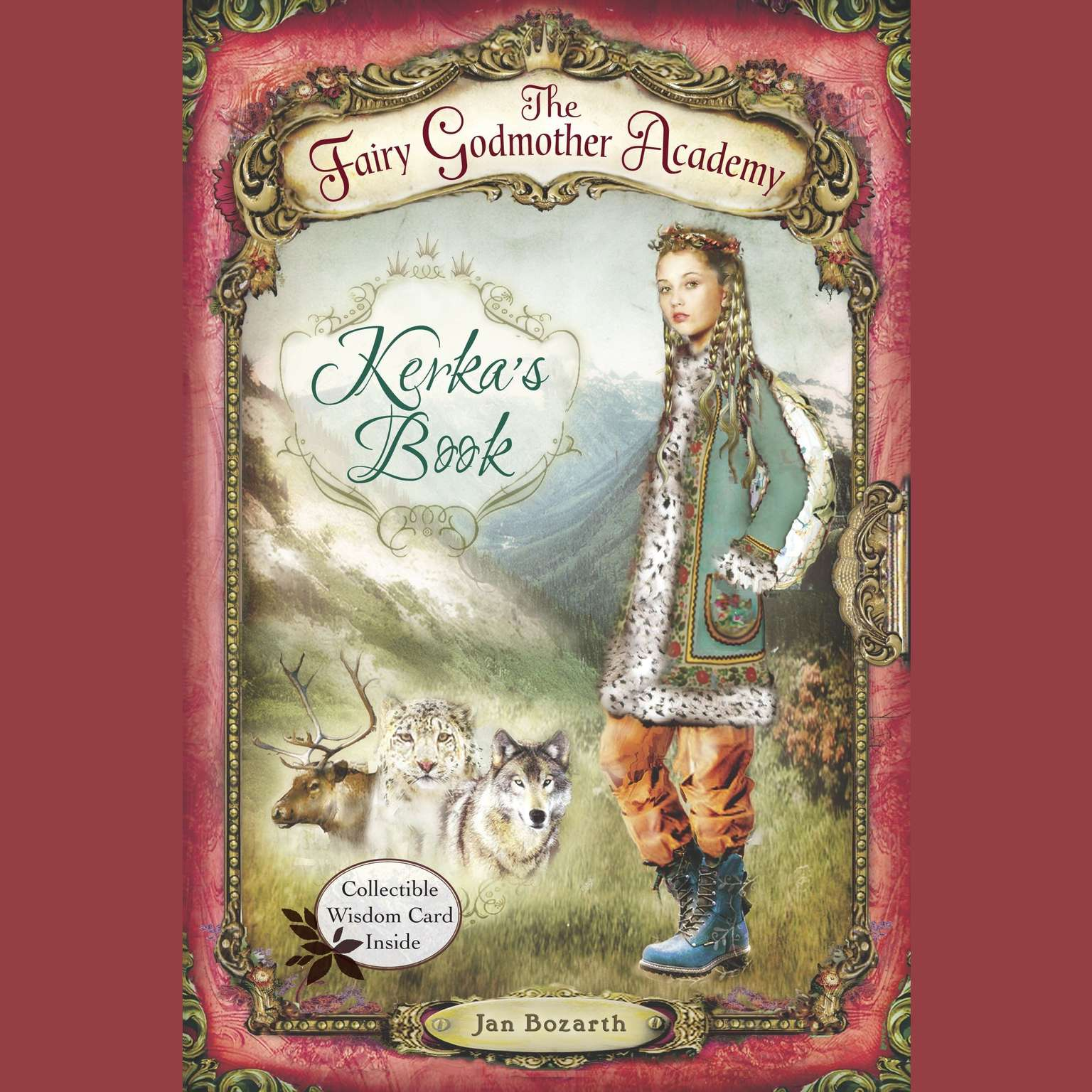 Printable Kerka's Book Audiobook Cover Art