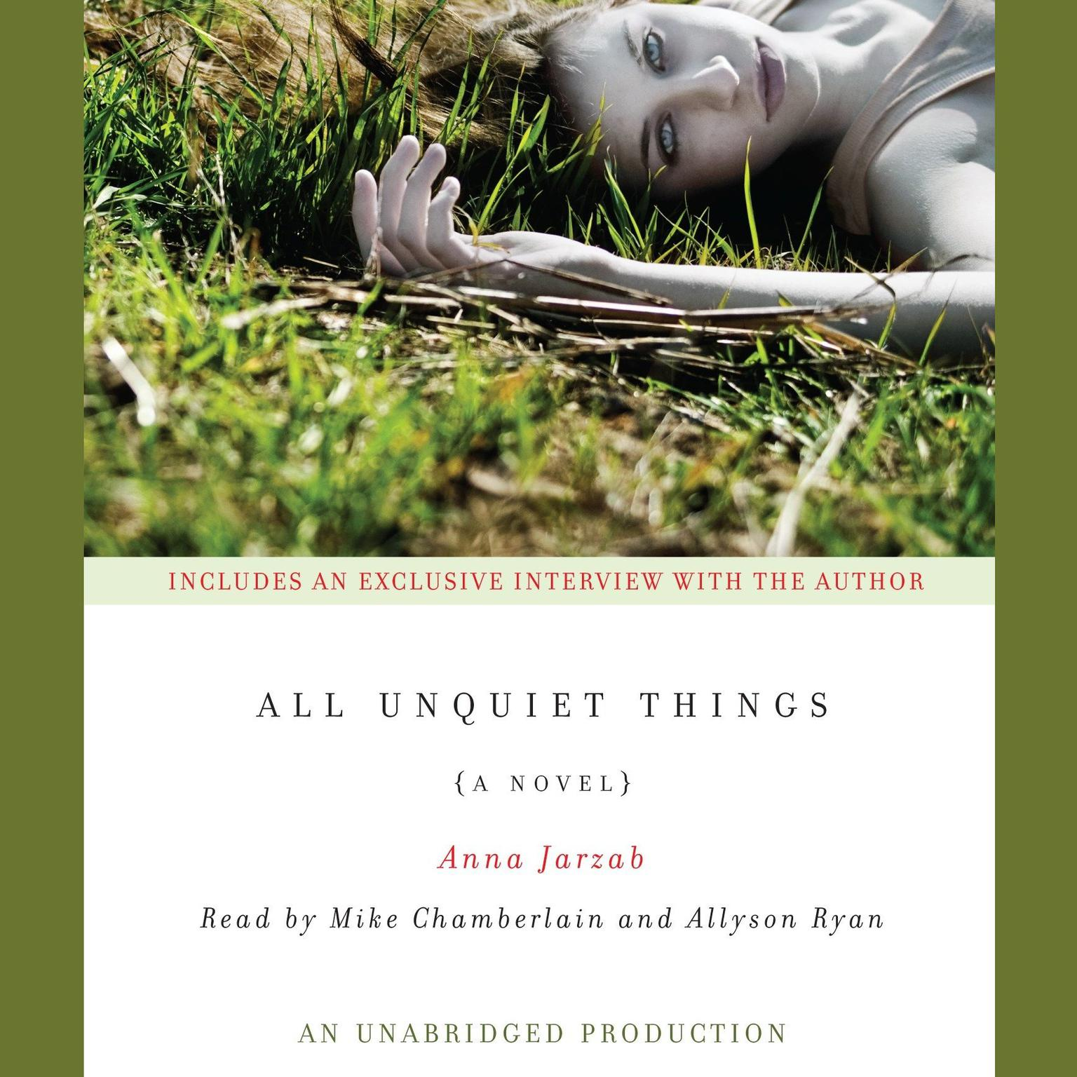 Printable All Unquiet Things Audiobook Cover Art