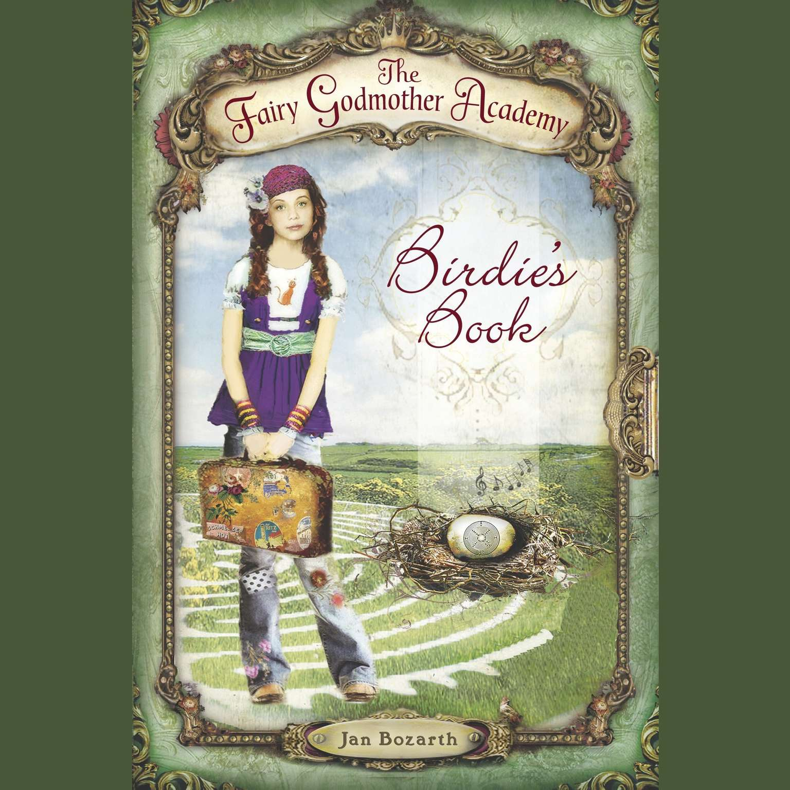 Printable The Fairy Godmother Academy #1: Birdie's Book Audiobook Cover Art