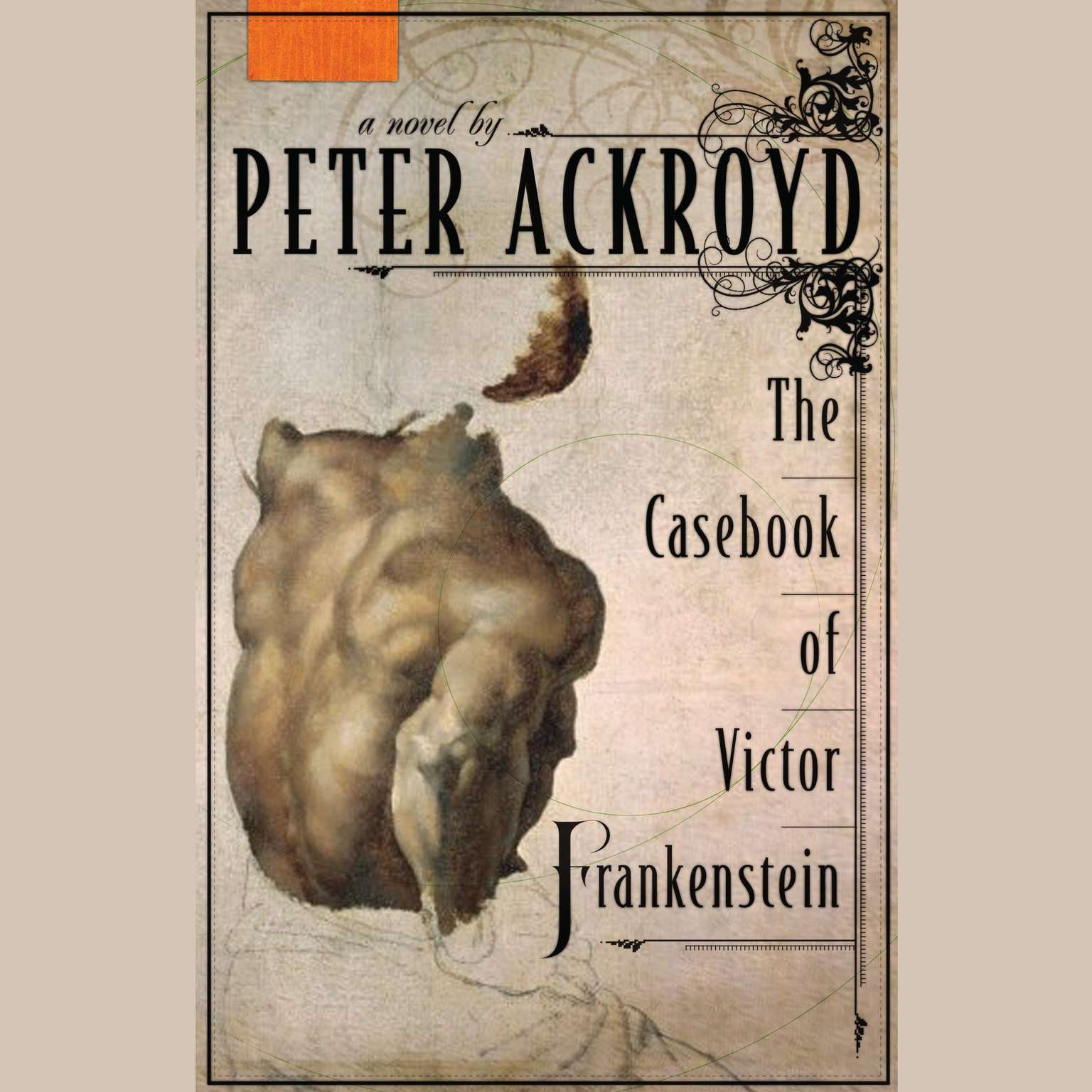 Printable The Casebook of Victor Frankenstein: A Novel Audiobook Cover Art