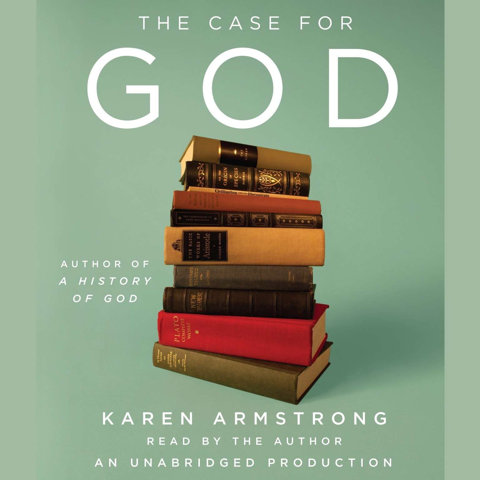 Printable The Case for God Audiobook Cover Art
