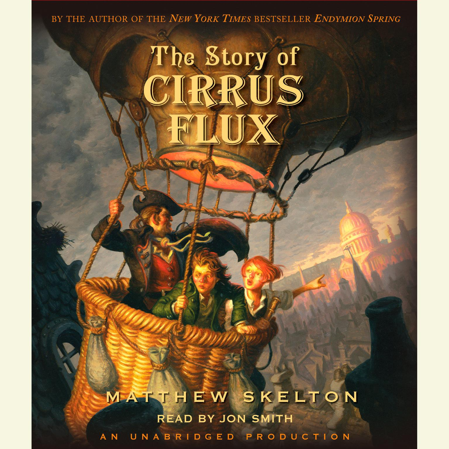 Printable The Story of Cirrus Flux Audiobook Cover Art