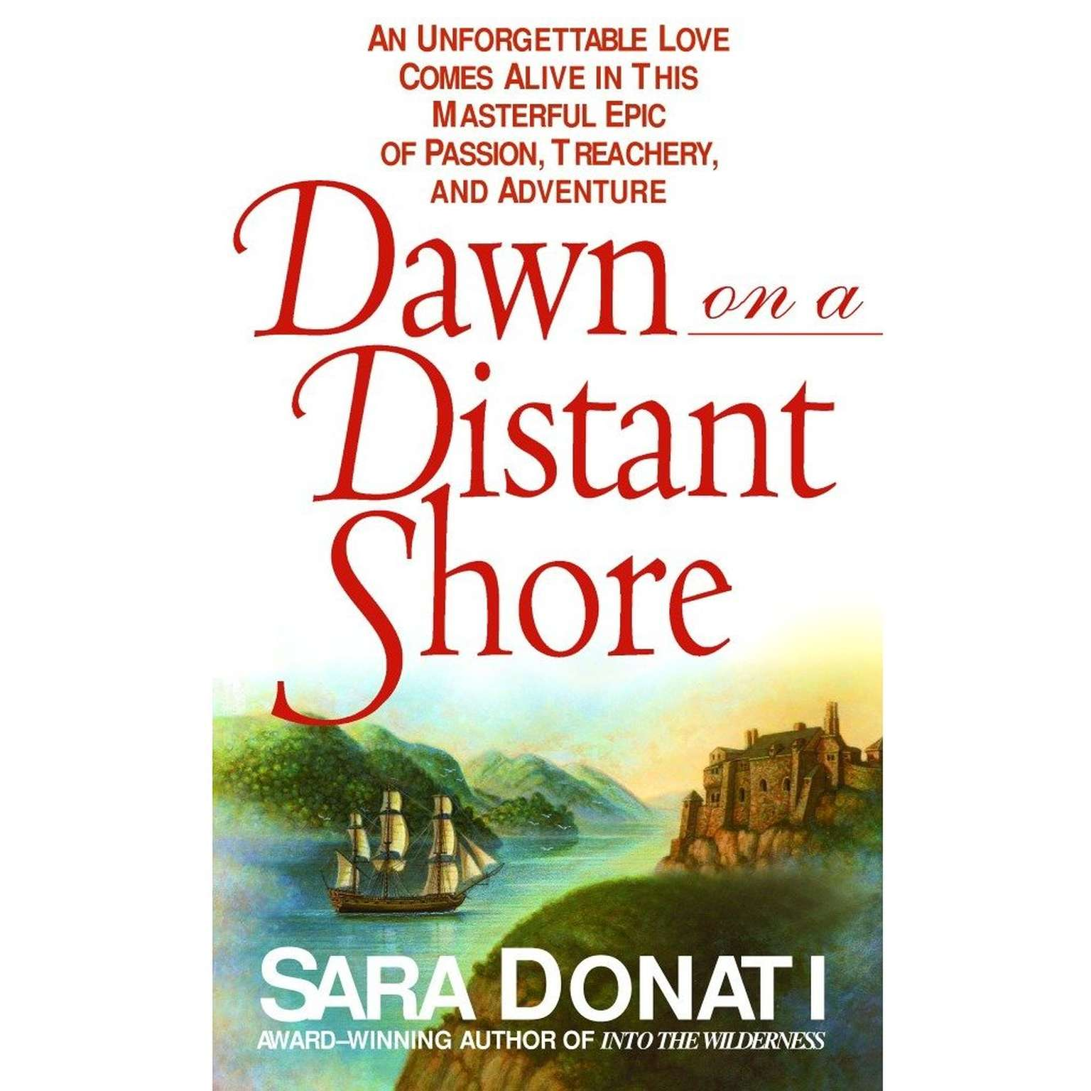 Printable Dawn on a Distant Shore Audiobook Cover Art