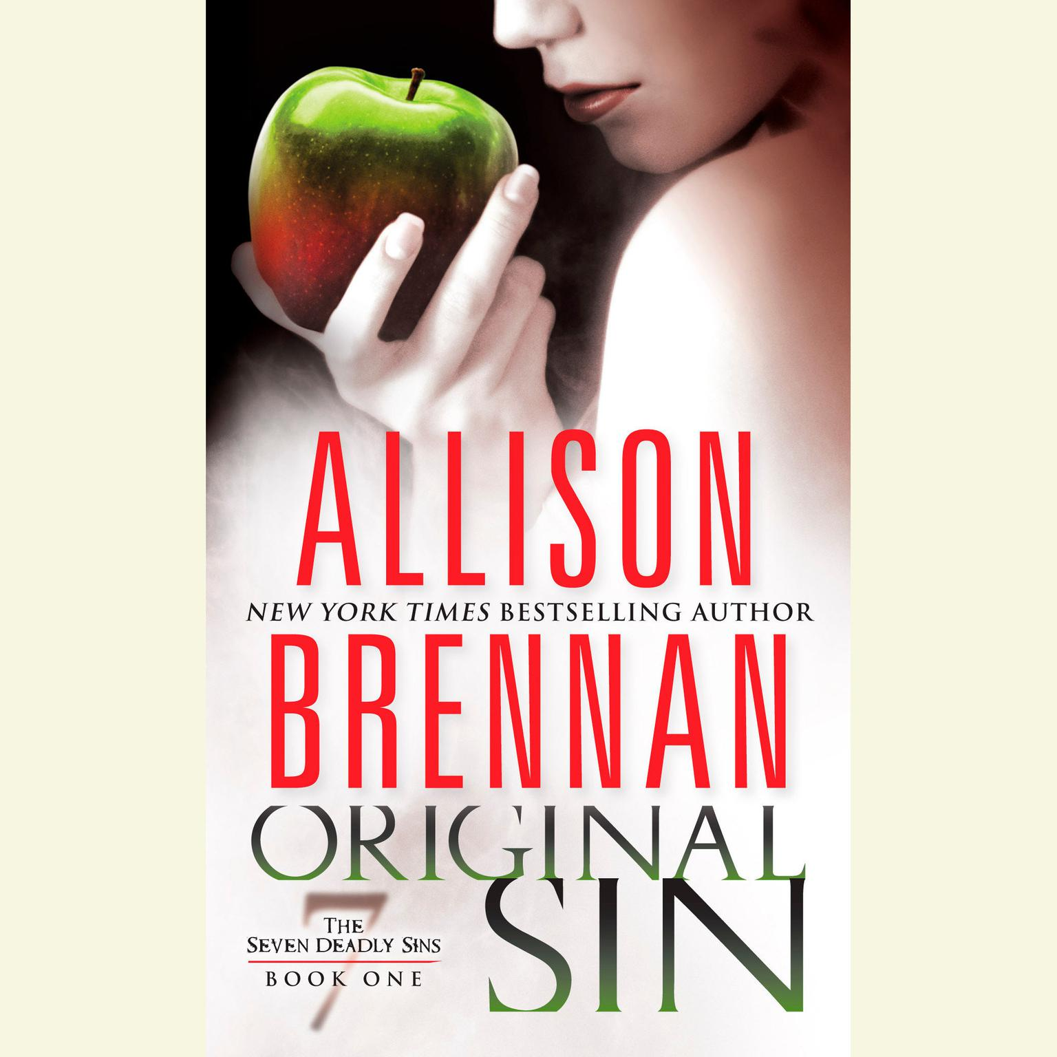Printable Original Sin Audiobook Cover Art