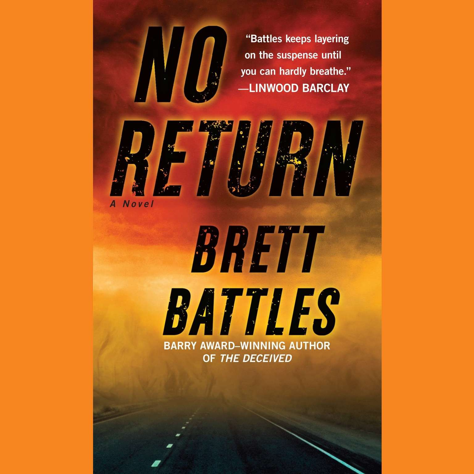 Printable No Return: A Novel Audiobook Cover Art