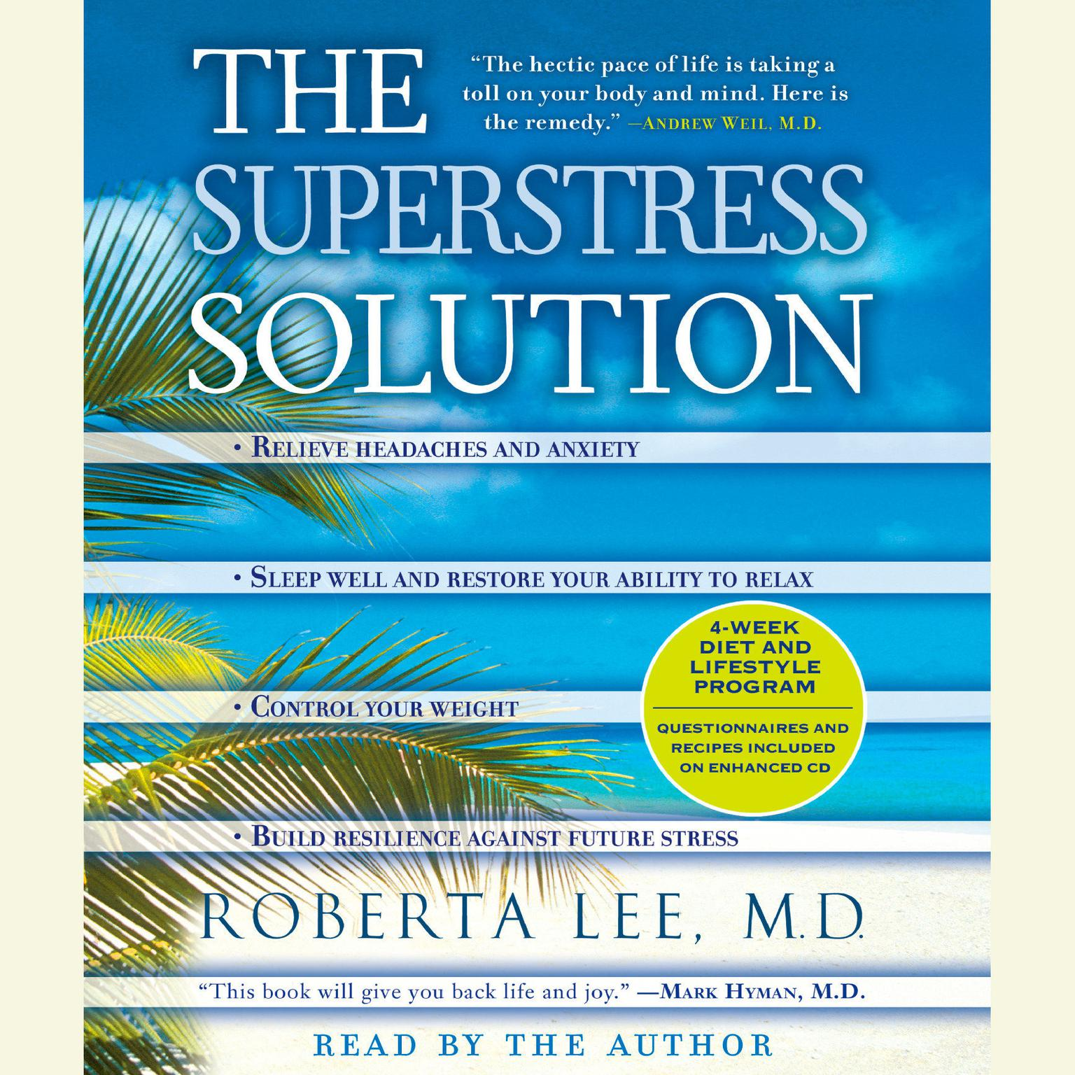 Printable The SuperStress Solution: 4-week Diet and Lifestyle Program Audiobook Cover Art