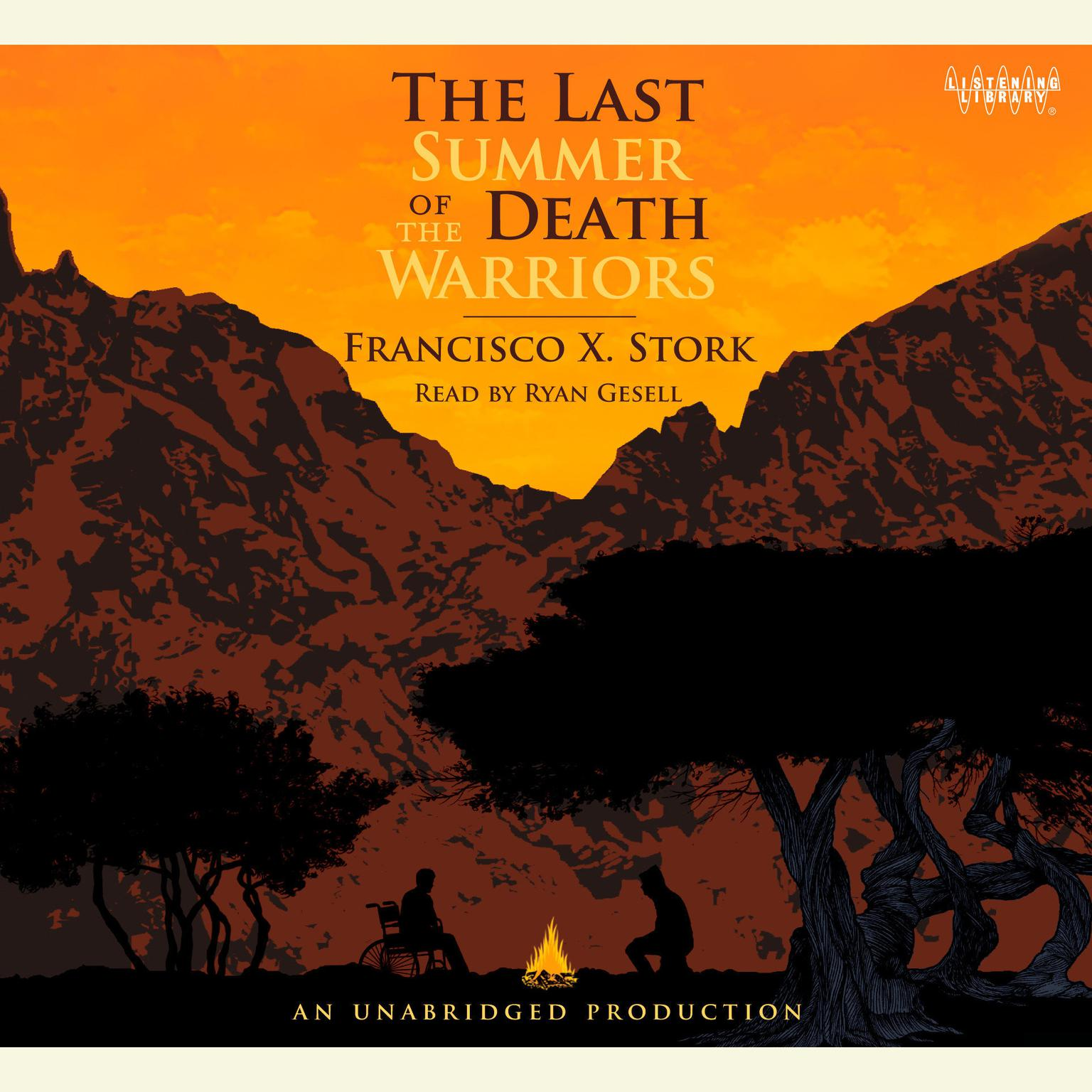 Printable The Last Summer of the Death Warriors Audiobook Cover Art