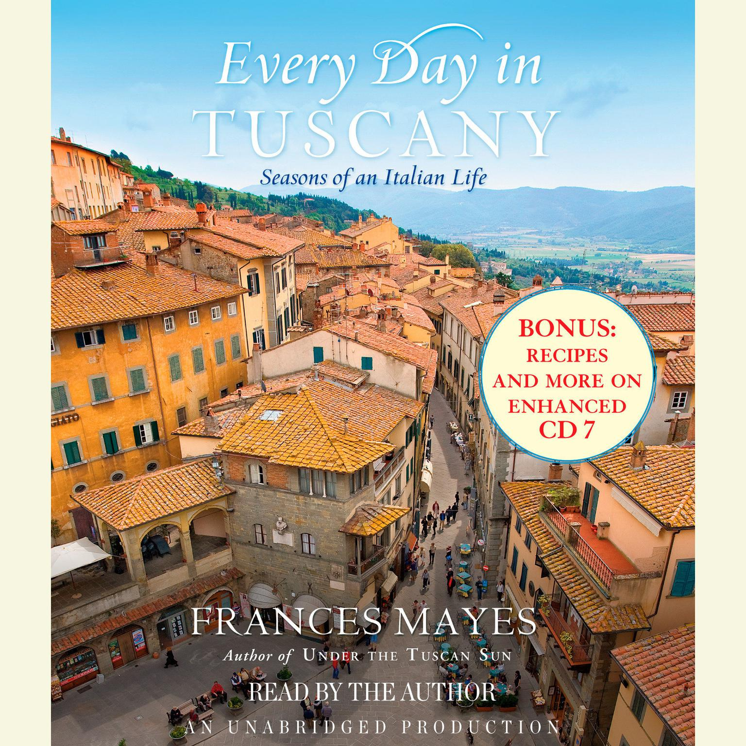 Printable Every Day in Tuscany: Seasons of an Italian Life Audiobook Cover Art