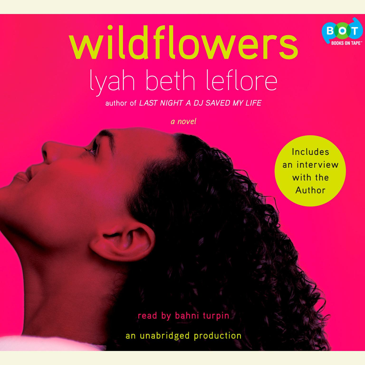Printable Wildflowers: A Novel Audiobook Cover Art