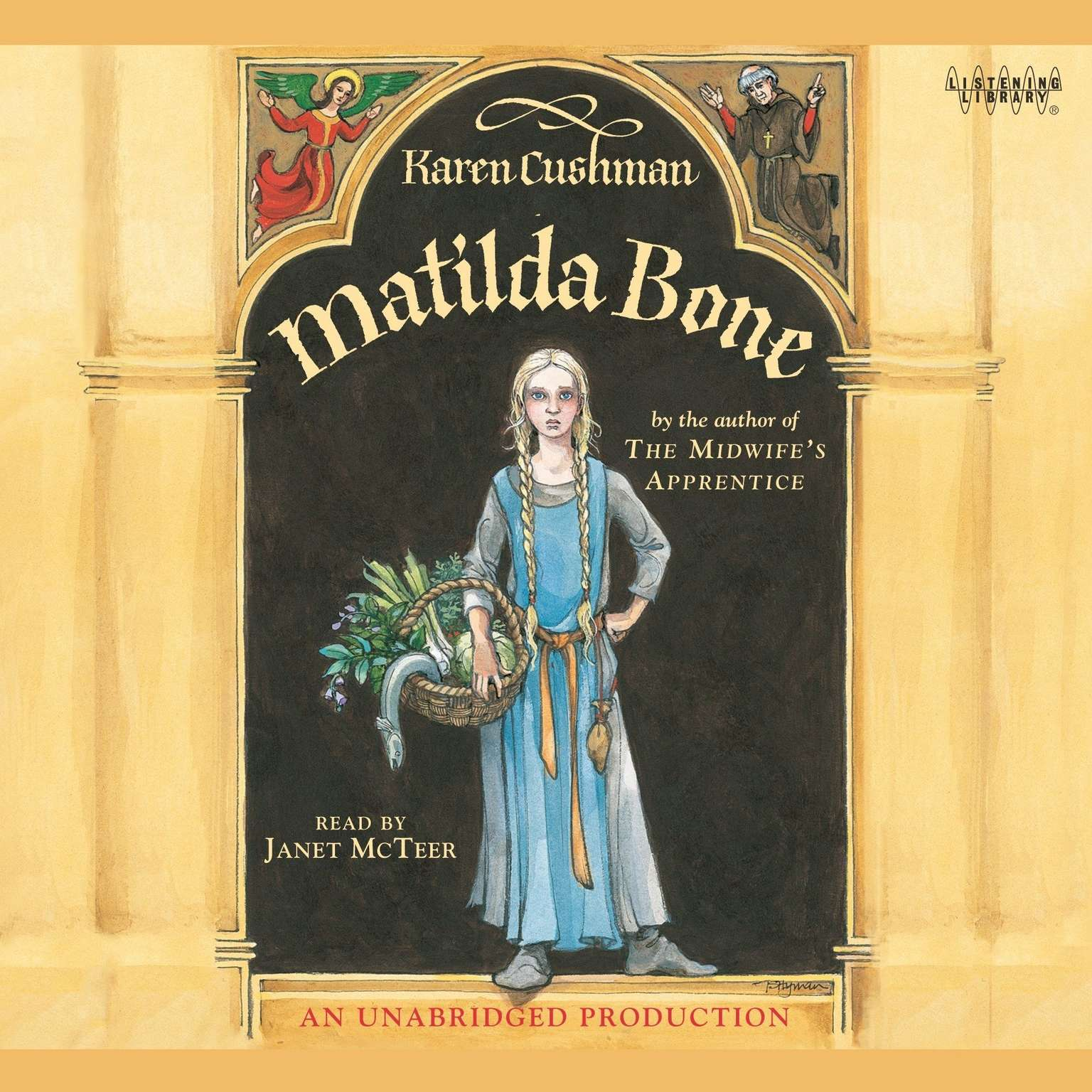 Printable Matilda Bone Audiobook Cover Art