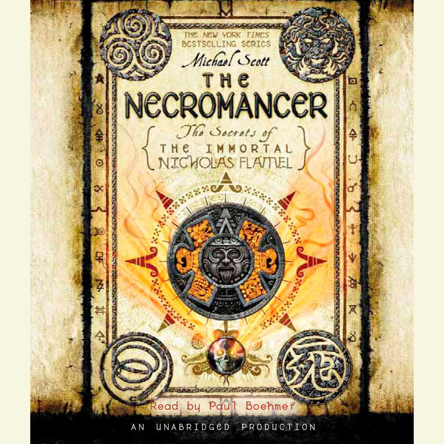 Printable The Necromancer Audiobook Cover Art