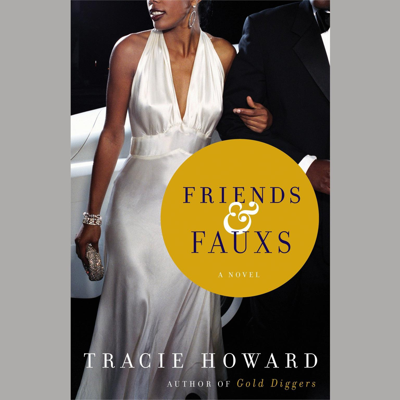 Printable Friends & Fauxs: A Novel Audiobook Cover Art