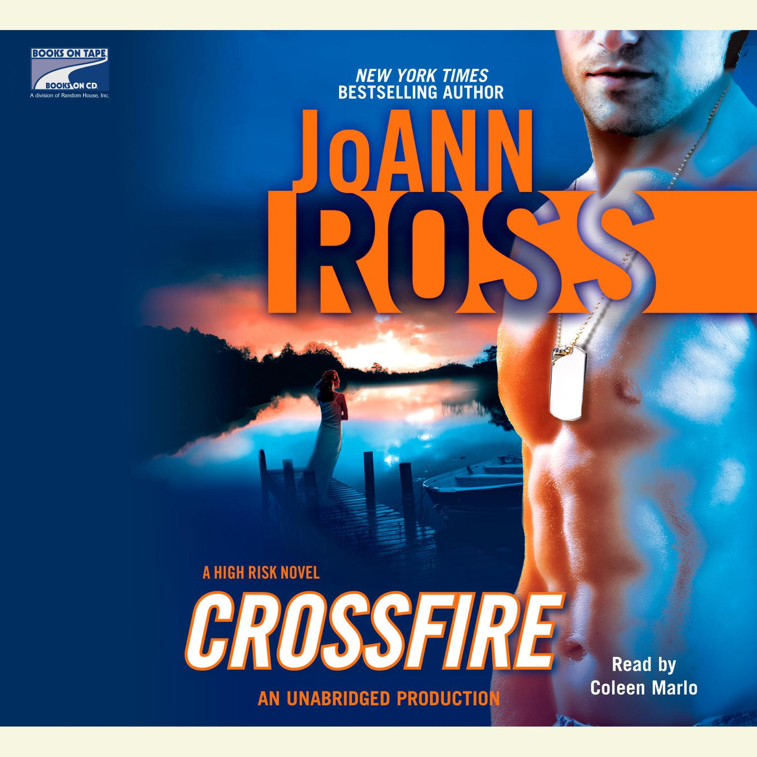 Printable Crossfire Audiobook Cover Art