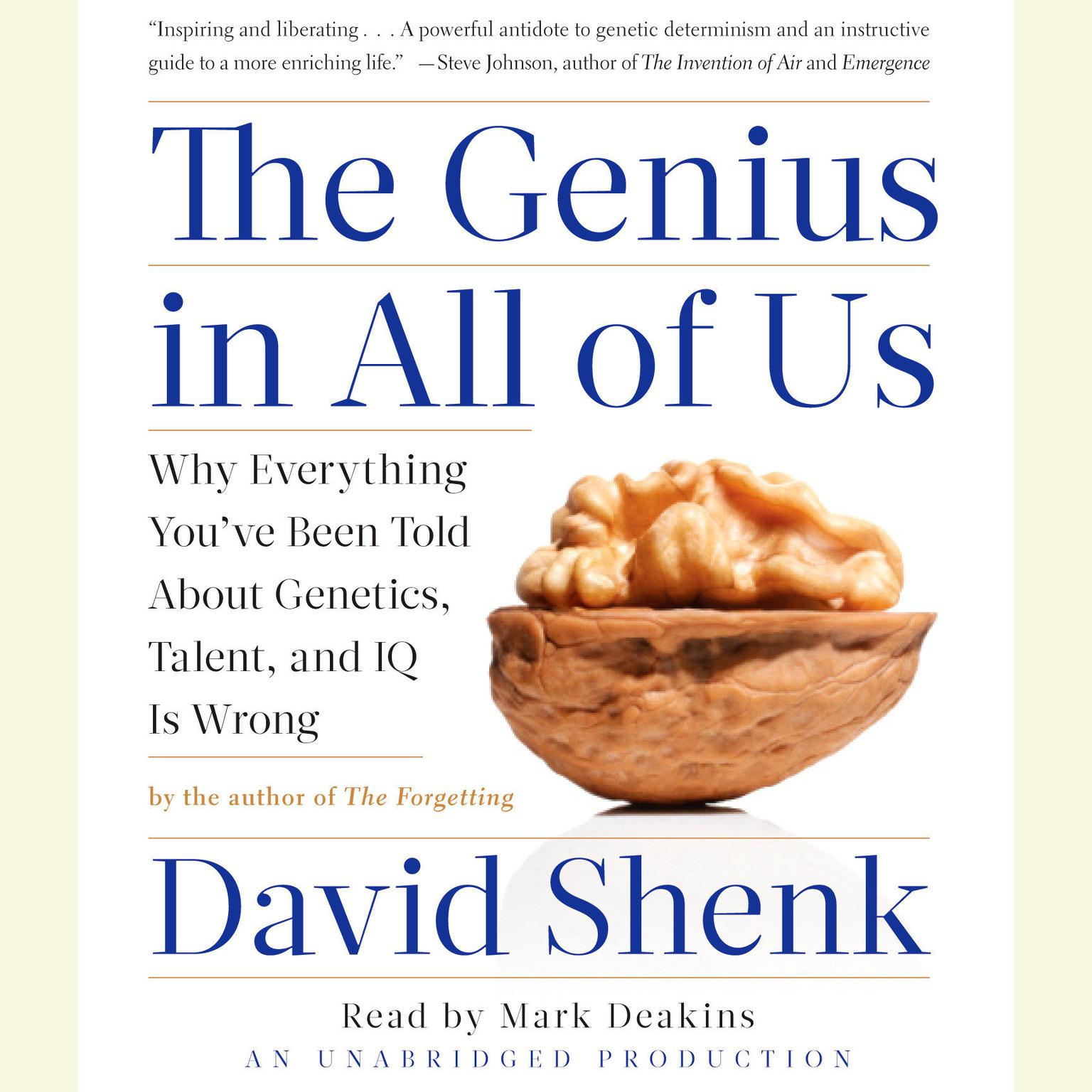 Printable The Genius in All of Us: New Insights into Genetics, Talent, and IQ Audiobook Cover Art