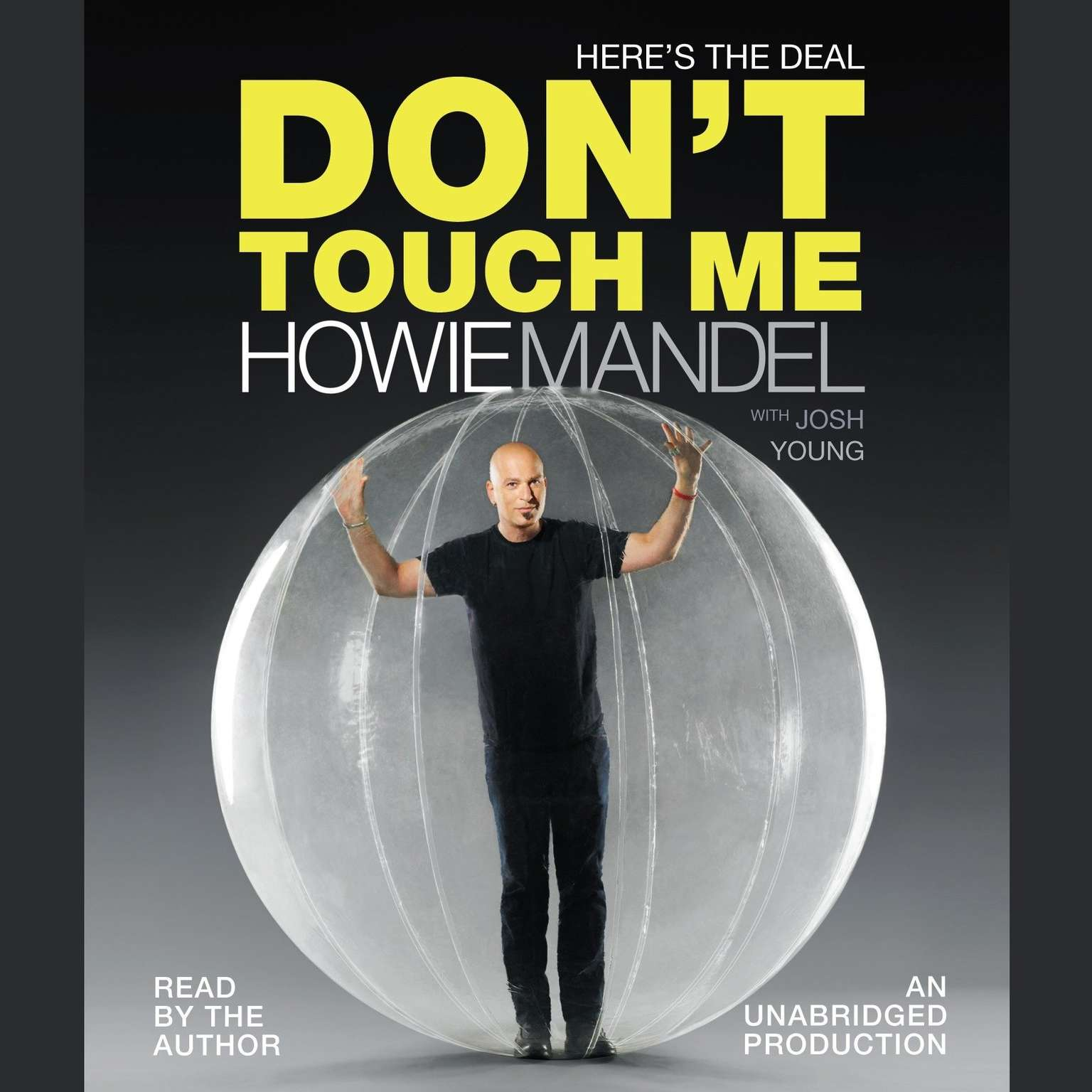 Printable Here's the Deal: Don't Touch Me Audiobook Cover Art