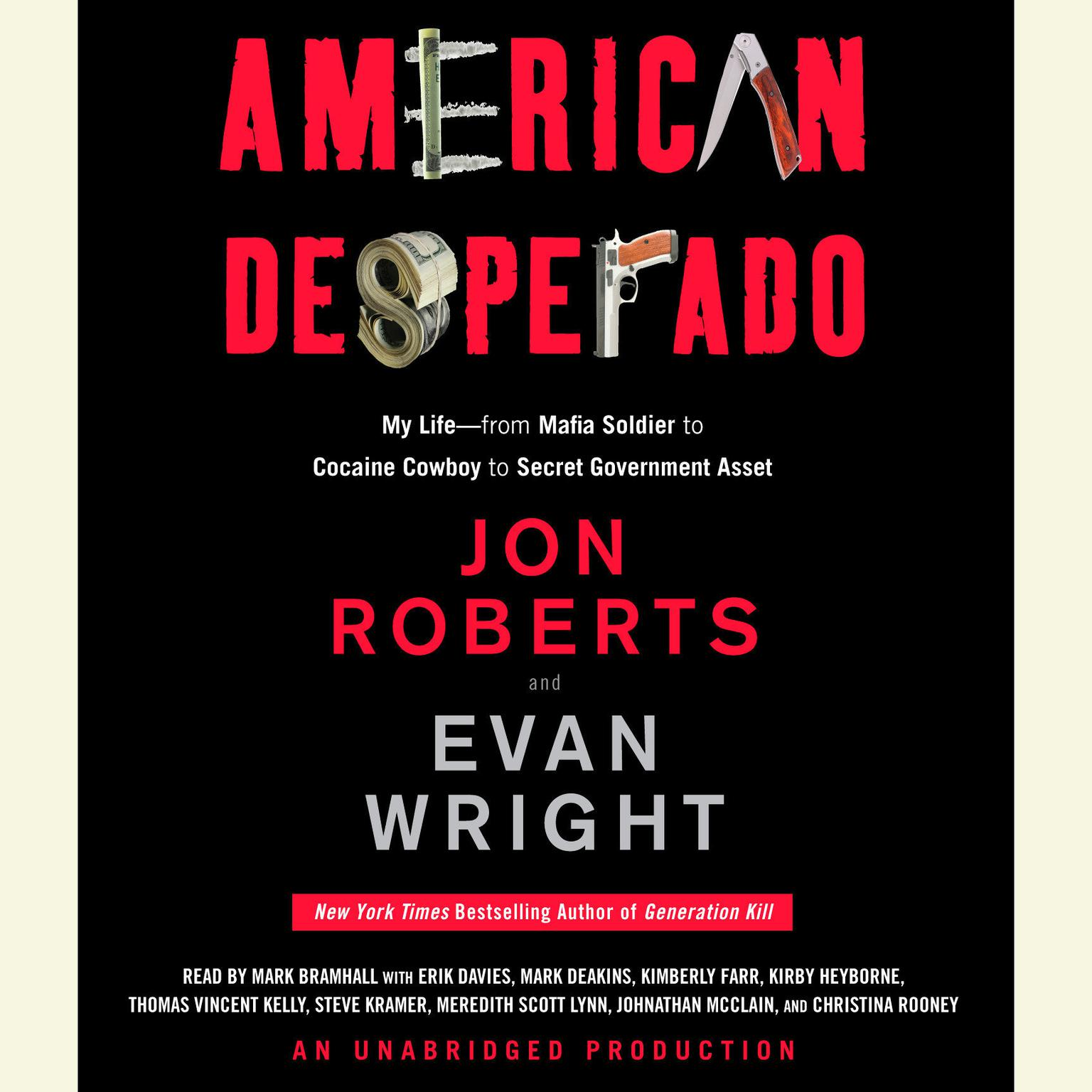 Printable American Desperado: My Life--From Mafia Soldier to Cocaine Cowboy to Secret Government Asset Audiobook Cover Art
