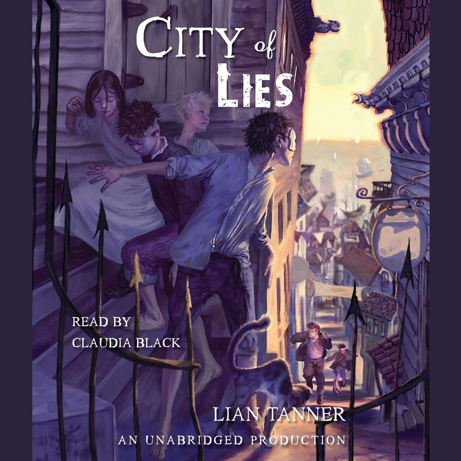 Printable City of Lies Audiobook Cover Art