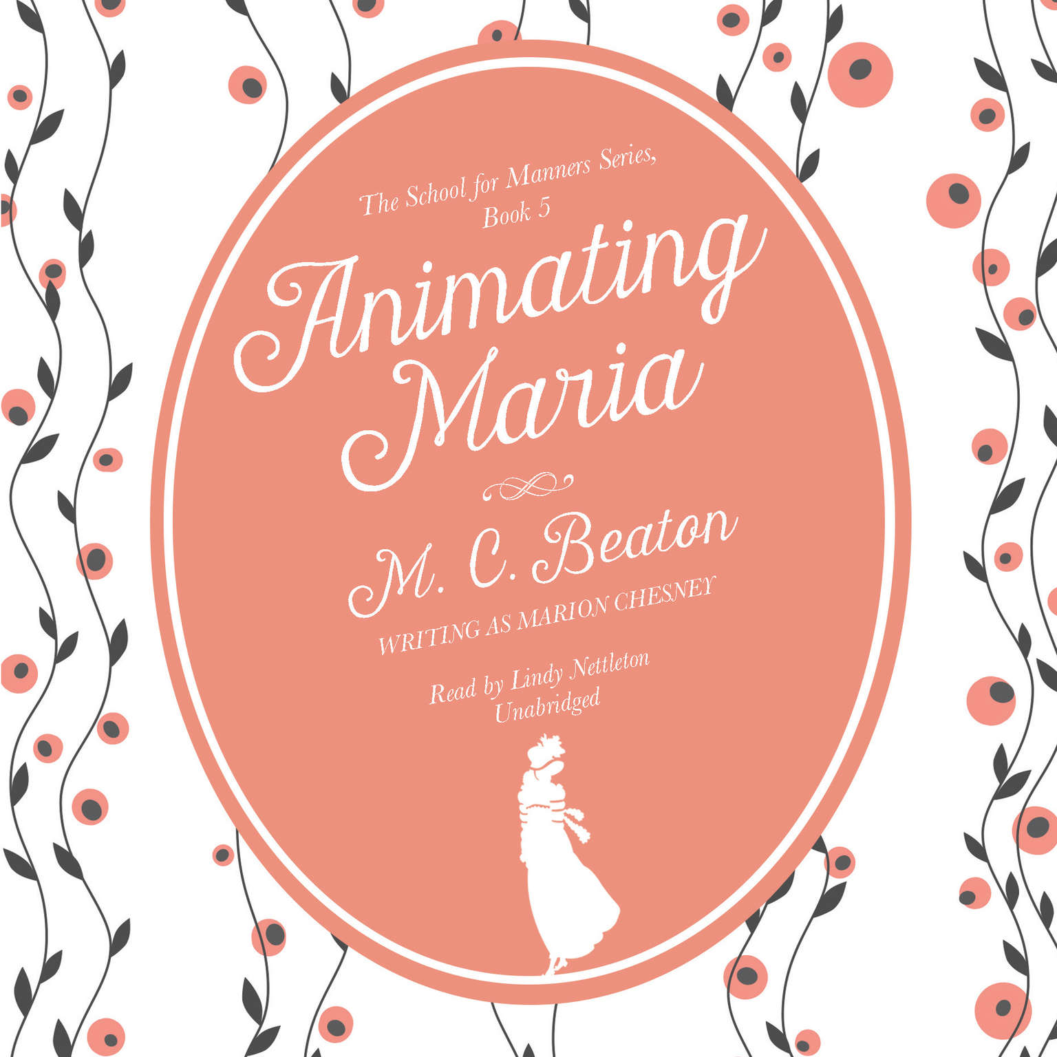 Printable Animating Maria Audiobook Cover Art