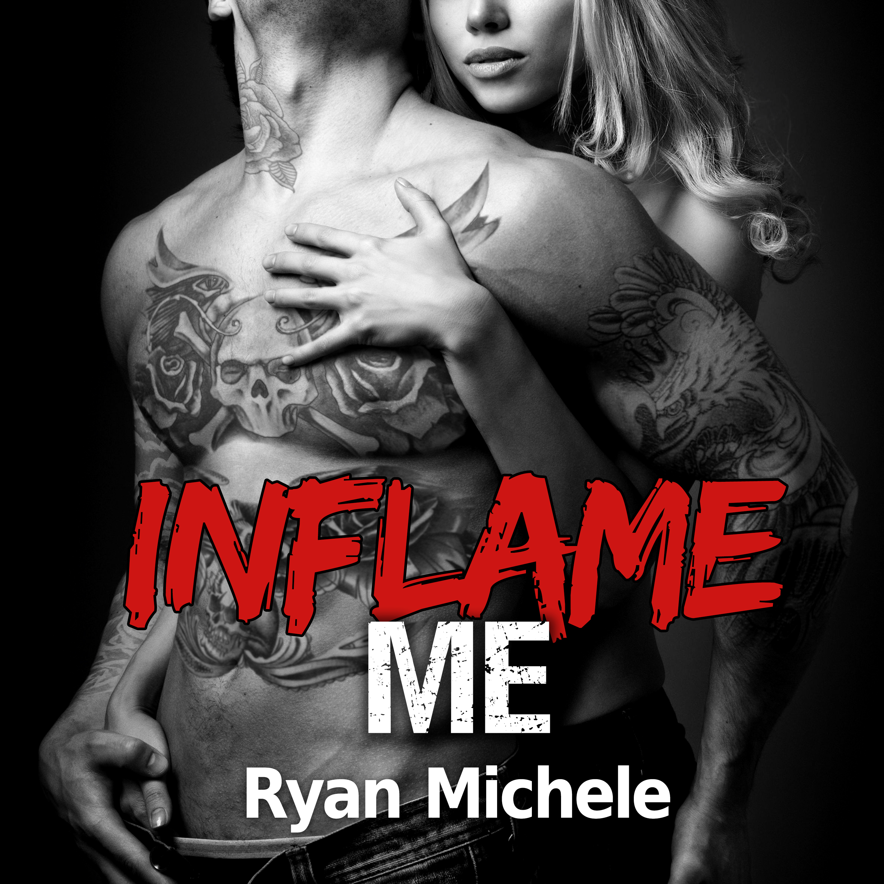 Printable Inflame Me Audiobook Cover Art