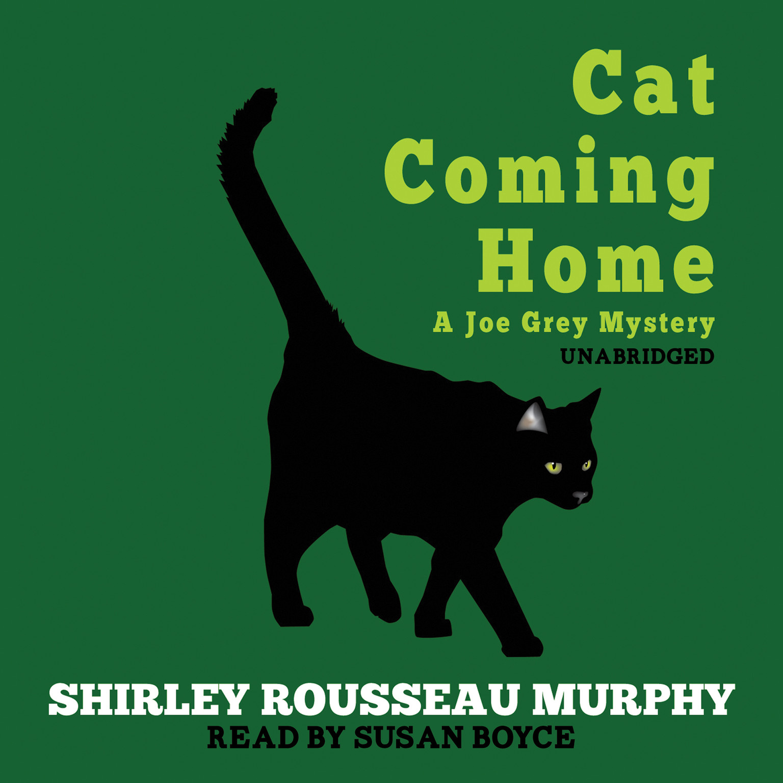 Printable Cat Coming Home: A Joe Grey Mystery Audiobook Cover Art