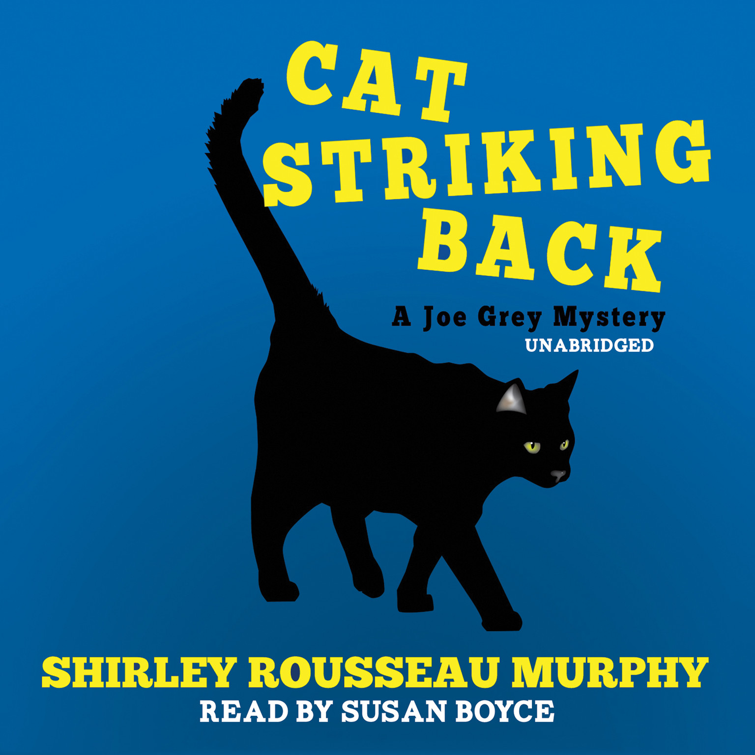 Printable Cat Striking Back: A Joe Grey Mystery Audiobook Cover Art