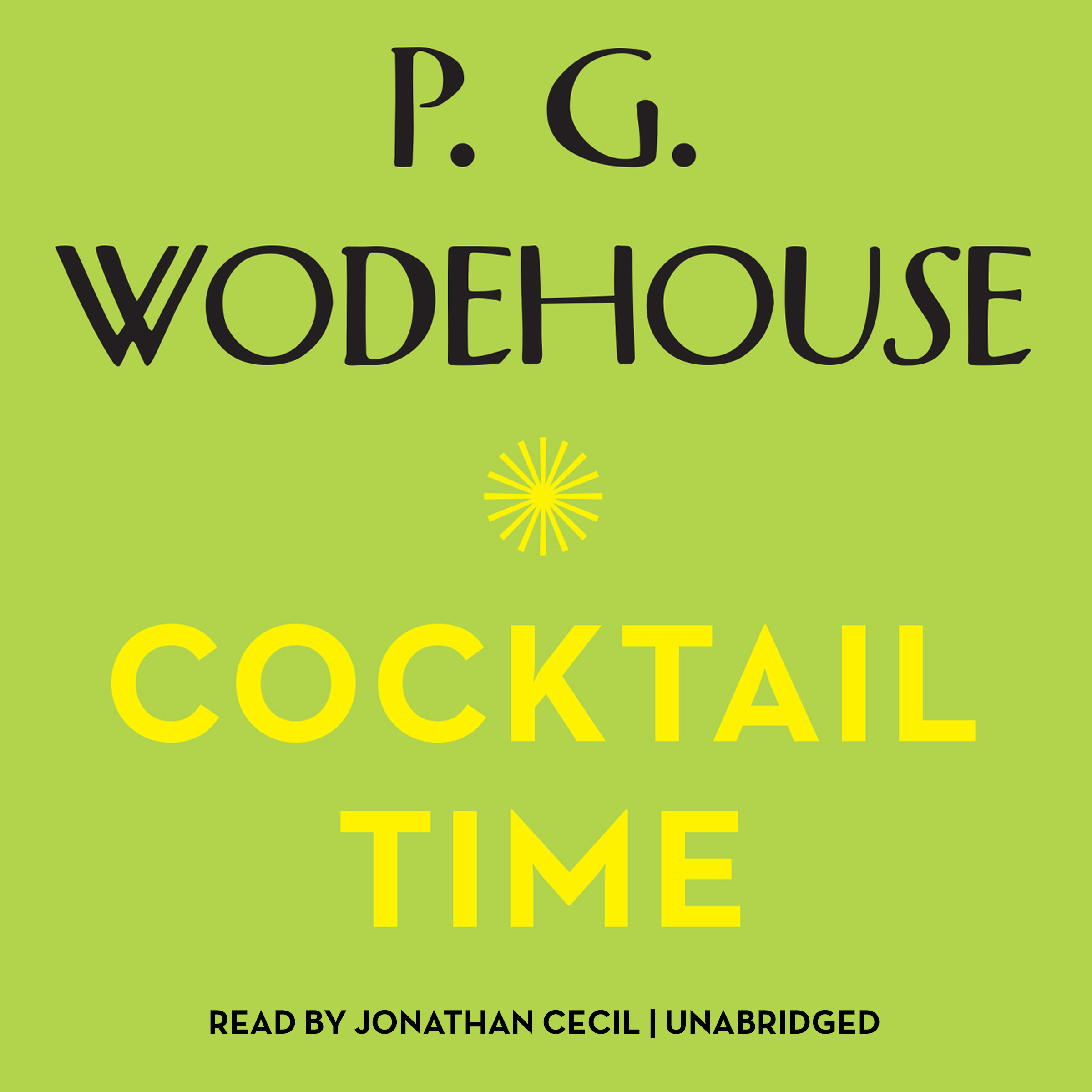 Printable Cocktail Time Audiobook Cover Art
