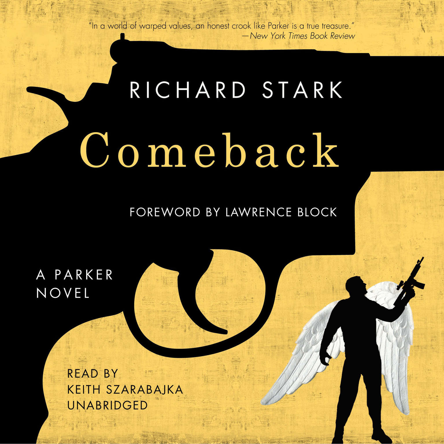 Printable Comeback Audiobook Cover Art