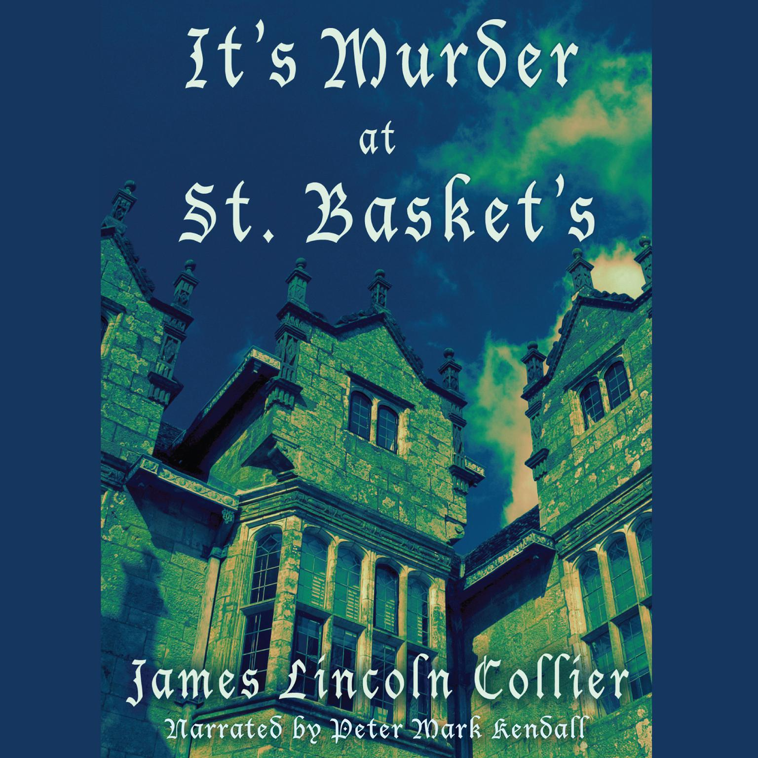 Printable It's Murder at St. Basket's Audiobook Cover Art