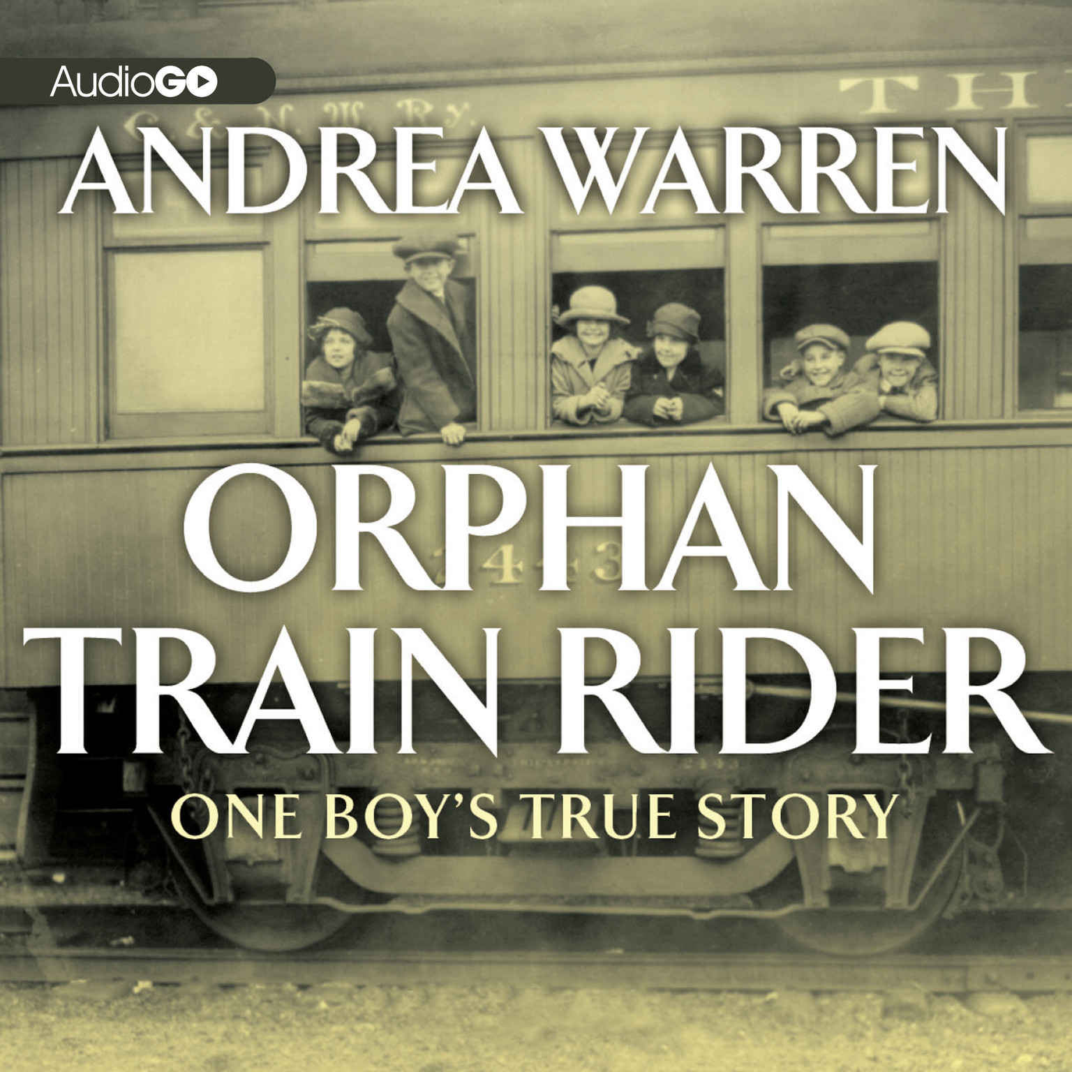 Printable Orphan Train Rider: One Boy's True Story Audiobook Cover Art