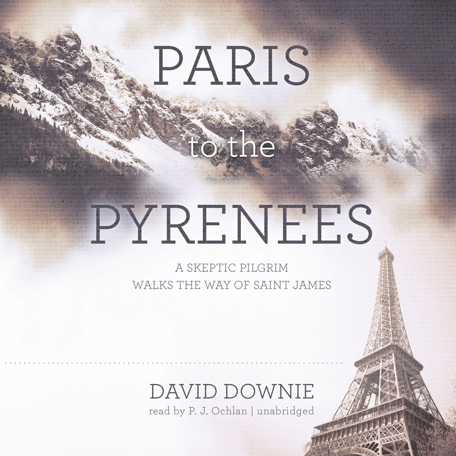 Printable Paris to the Pyrenees: A Skeptic Pilgrim Walks the Way of Saint James Audiobook Cover Art