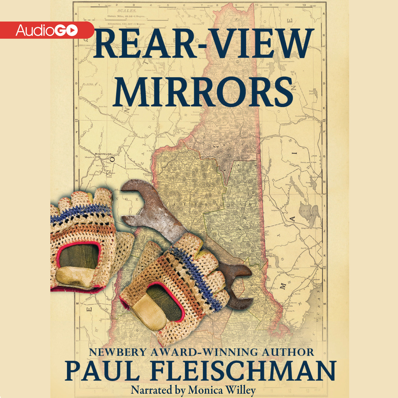 Printable Rear-View Mirrors Audiobook Cover Art