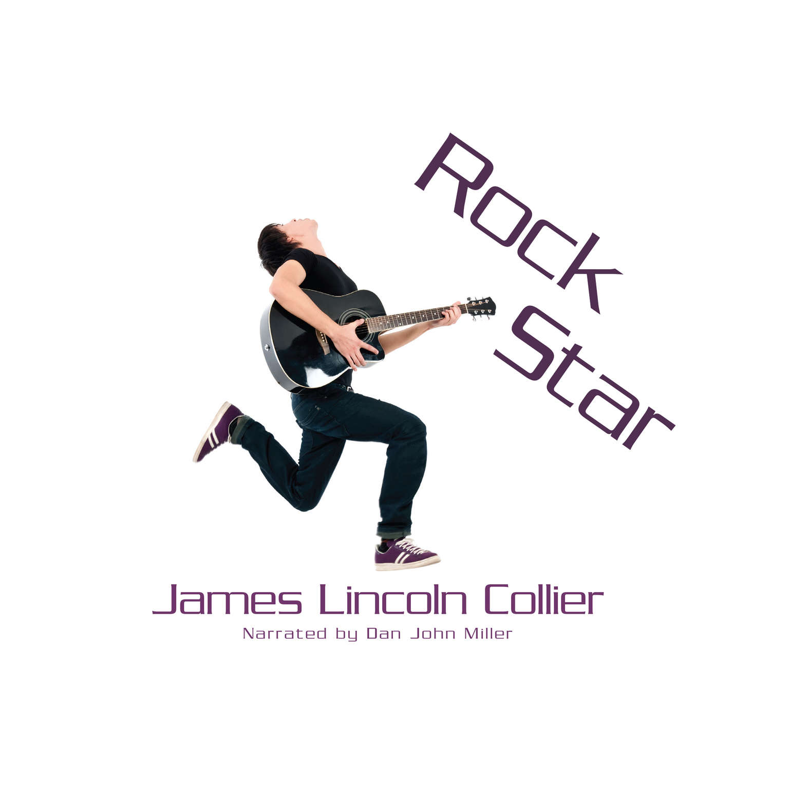Printable Rock Star Audiobook Cover Art