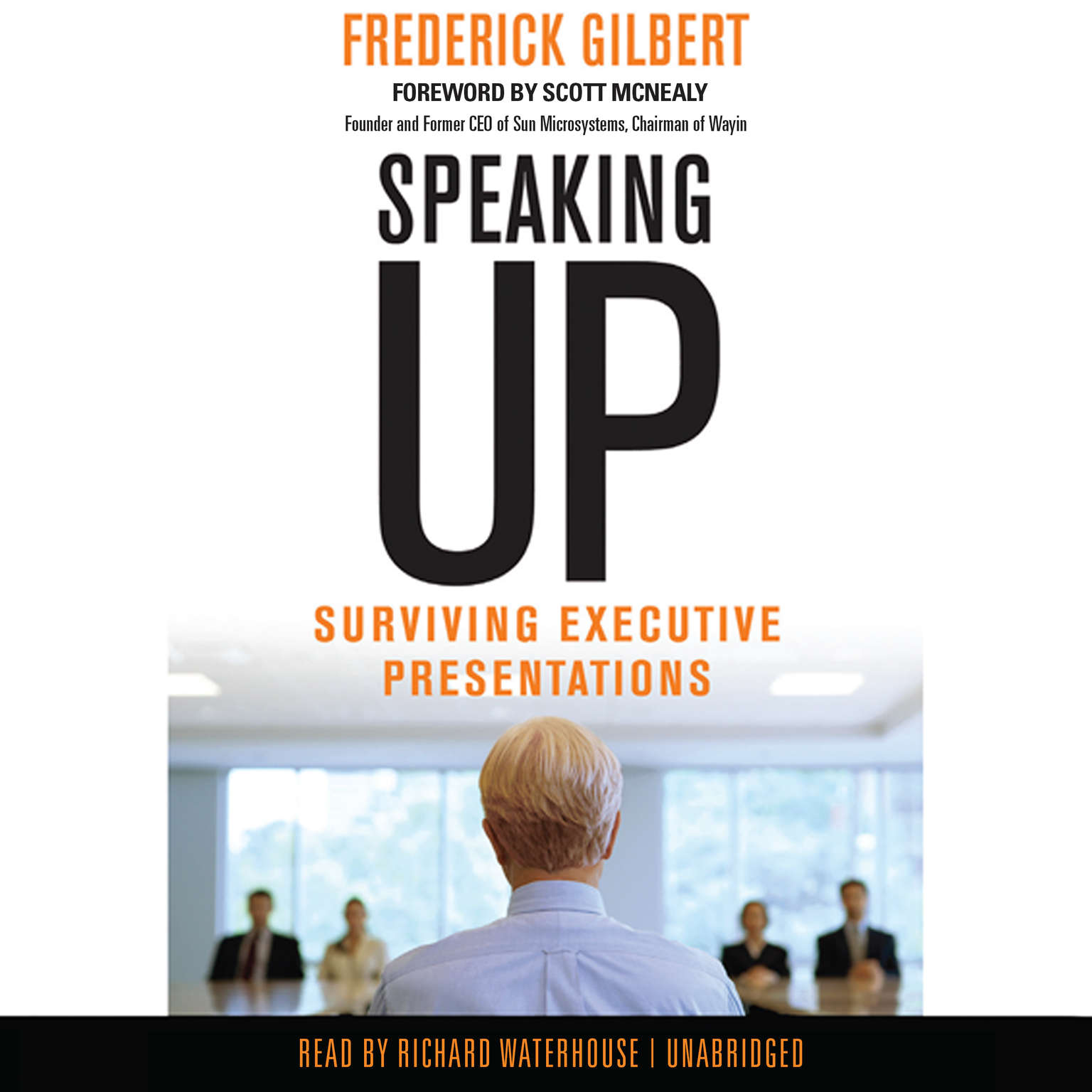 Printable Speaking Up: Surviving Executive Presentations Audiobook Cover Art