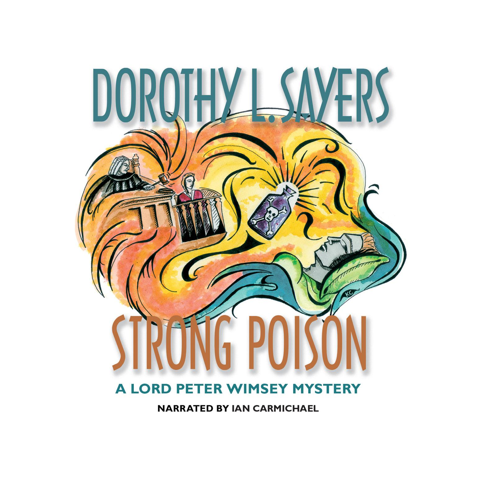 Printable Strong Poison Audiobook Cover Art