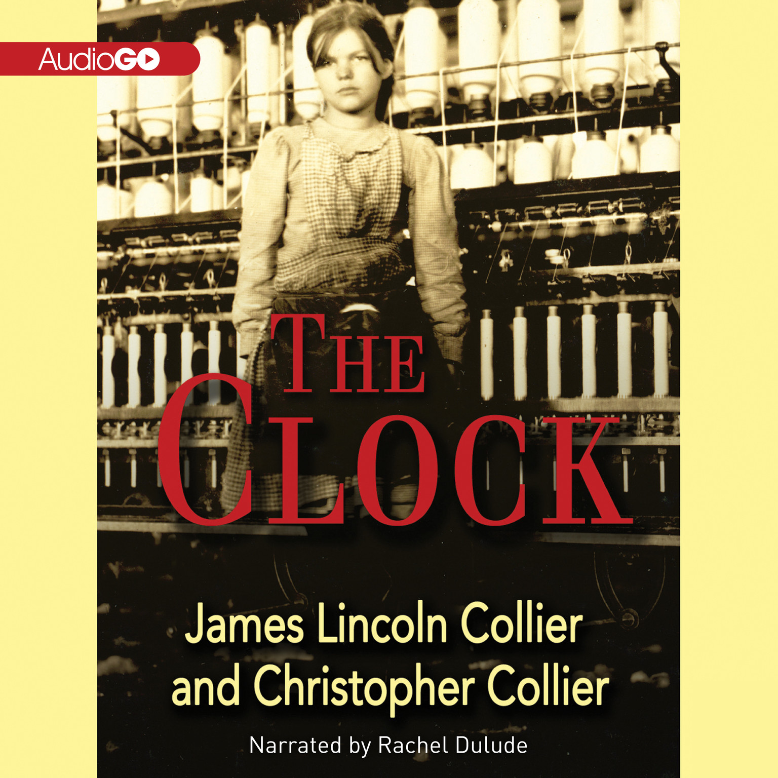 Printable The Clock Audiobook Cover Art