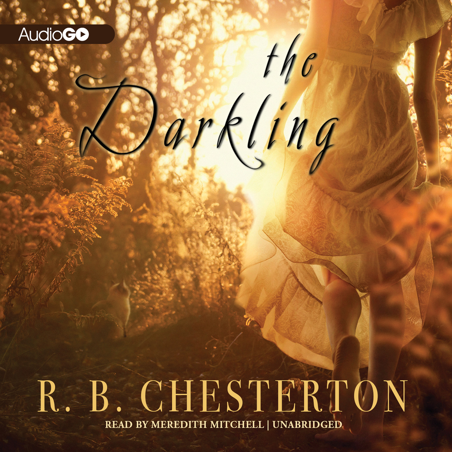 Printable The Darkling Audiobook Cover Art