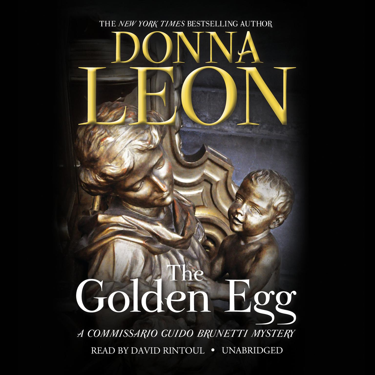 Printable The Golden Egg Audiobook Cover Art