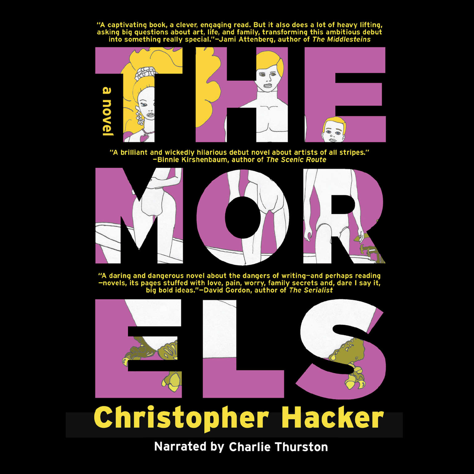 Printable The Morels Audiobook Cover Art