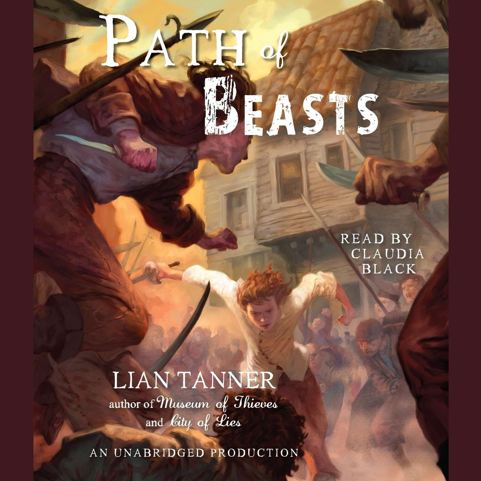 Printable Path of Beasts Audiobook Cover Art