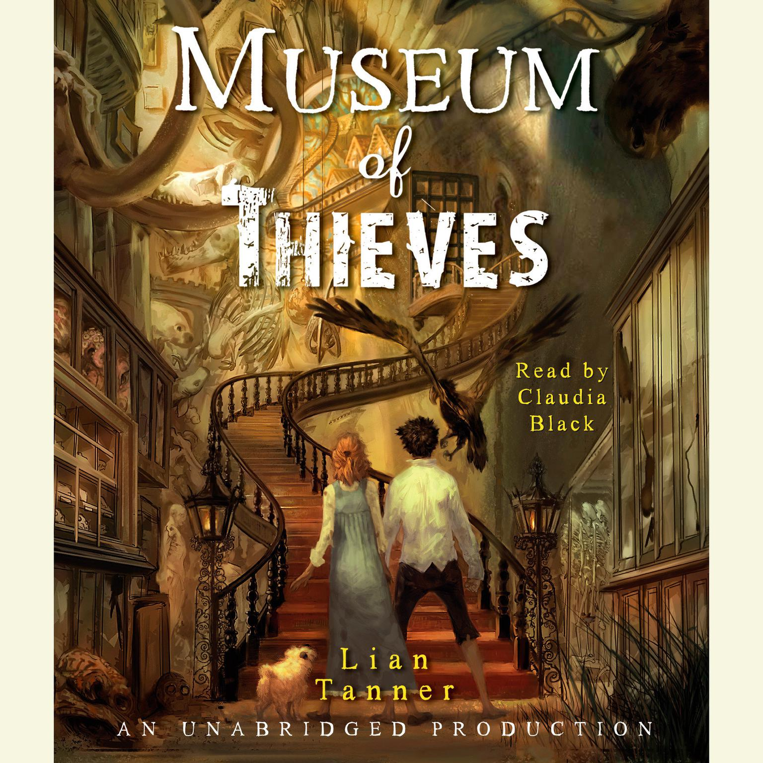 Printable Museum of Thieves Audiobook Cover Art