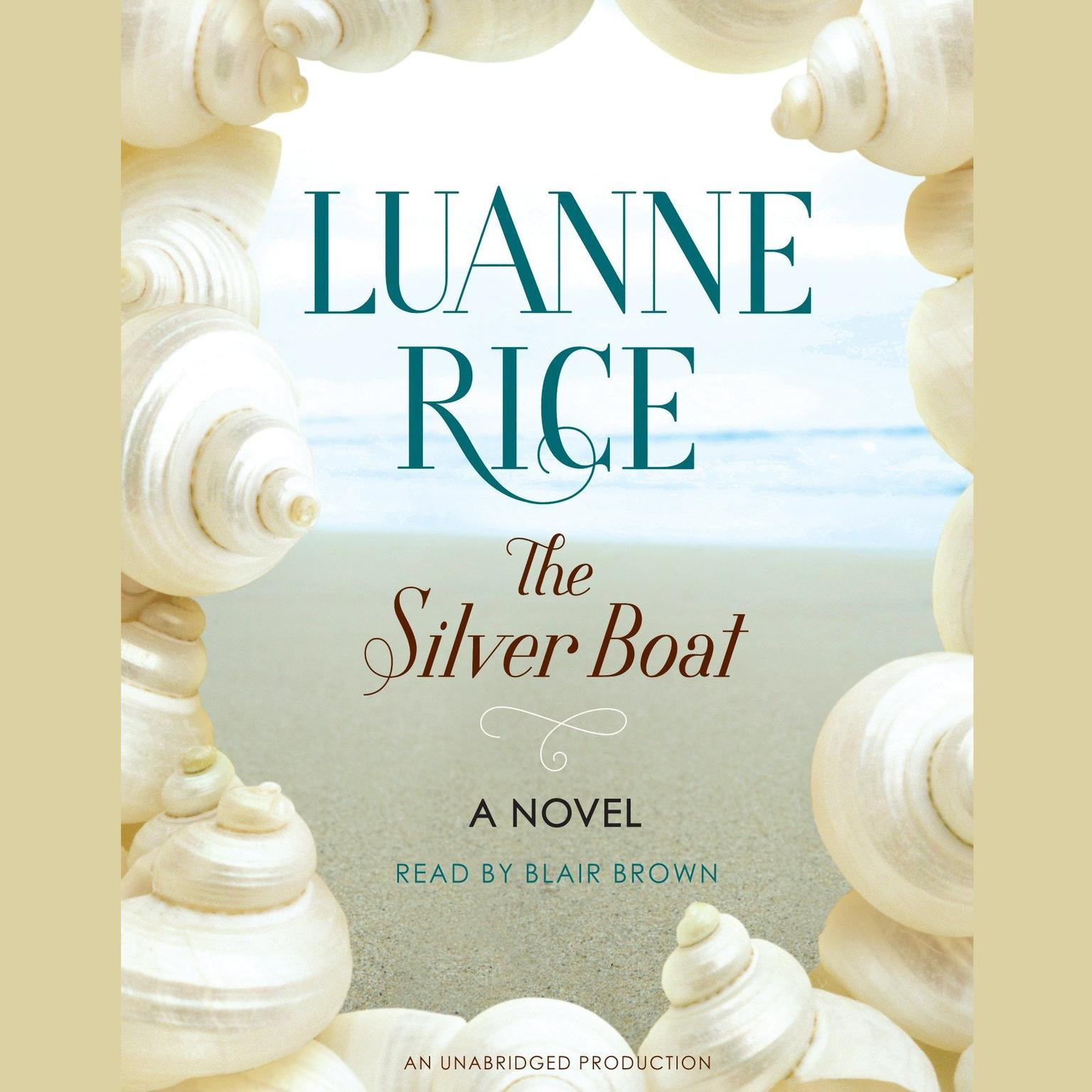 Printable The Silver Boat: A Novel Audiobook Cover Art