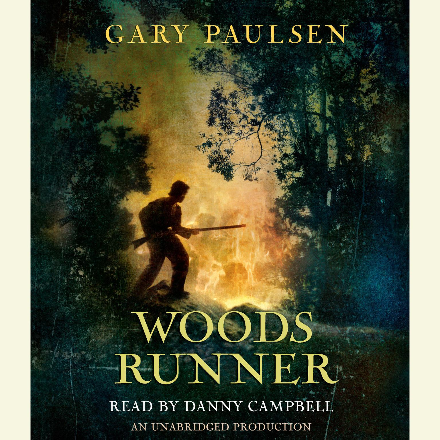 Printable Woods Runner Audiobook Cover Art